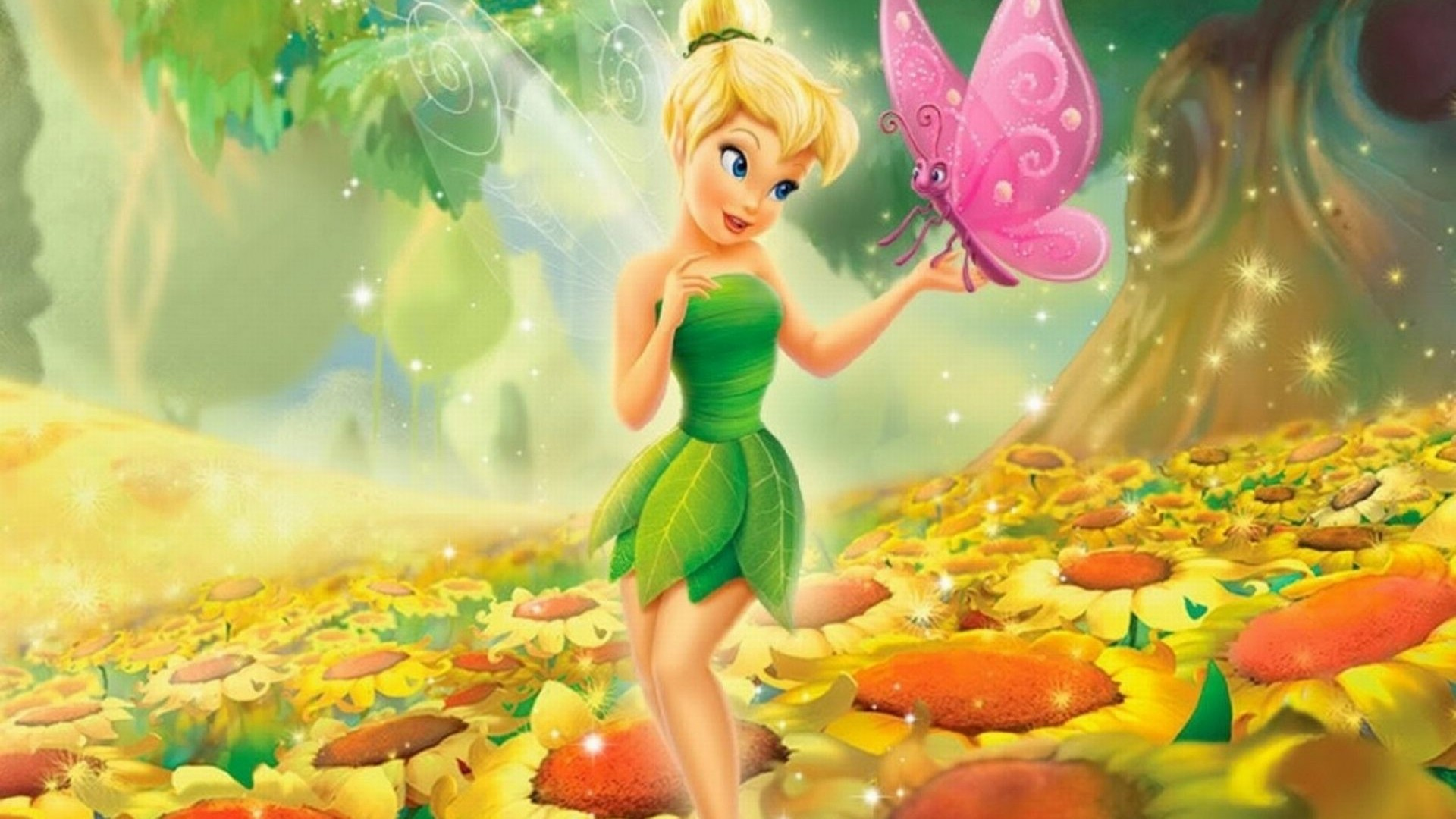 Tinkerbell Background ①