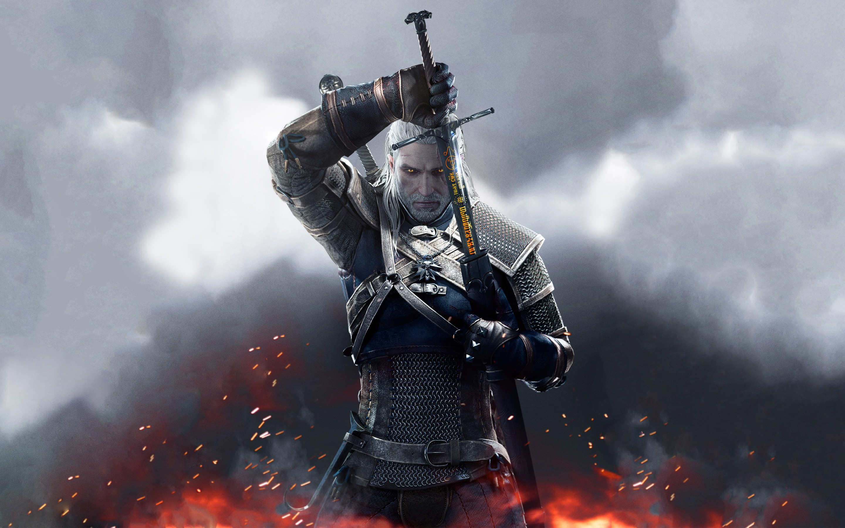 2880x1800 The Witcher 3 Wild Hunt Sword of Destiny Wallpapers | HD Wallpapers