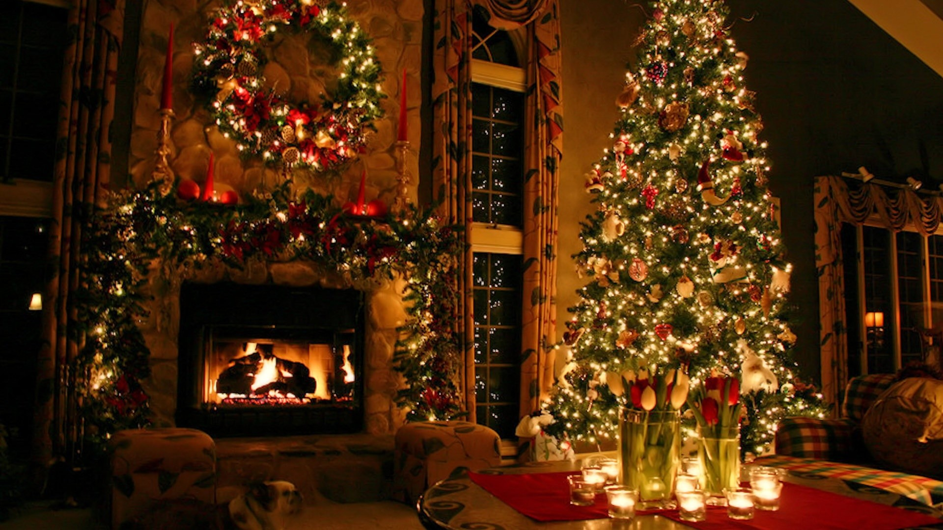 christmas tree - Christmas Computer Wallpaper