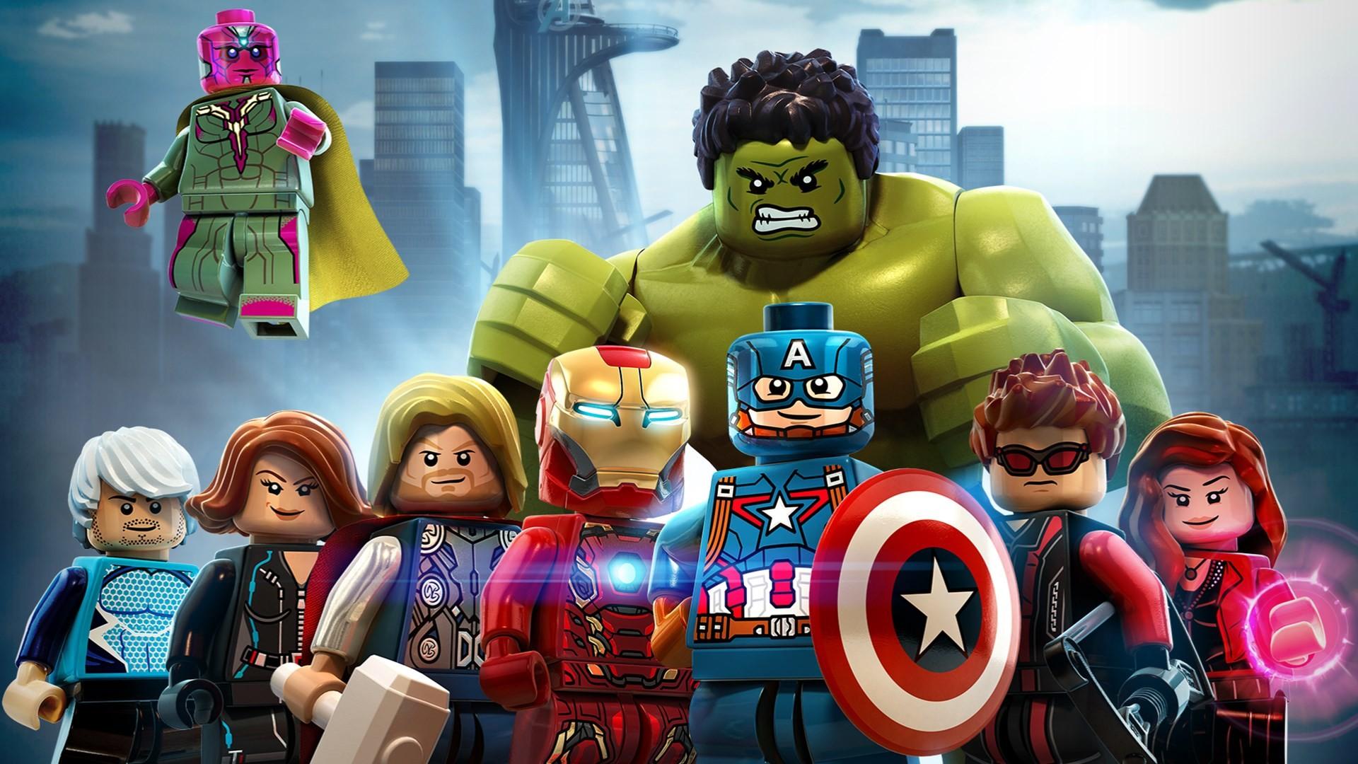 Lego Superheroes Wallpaper 1