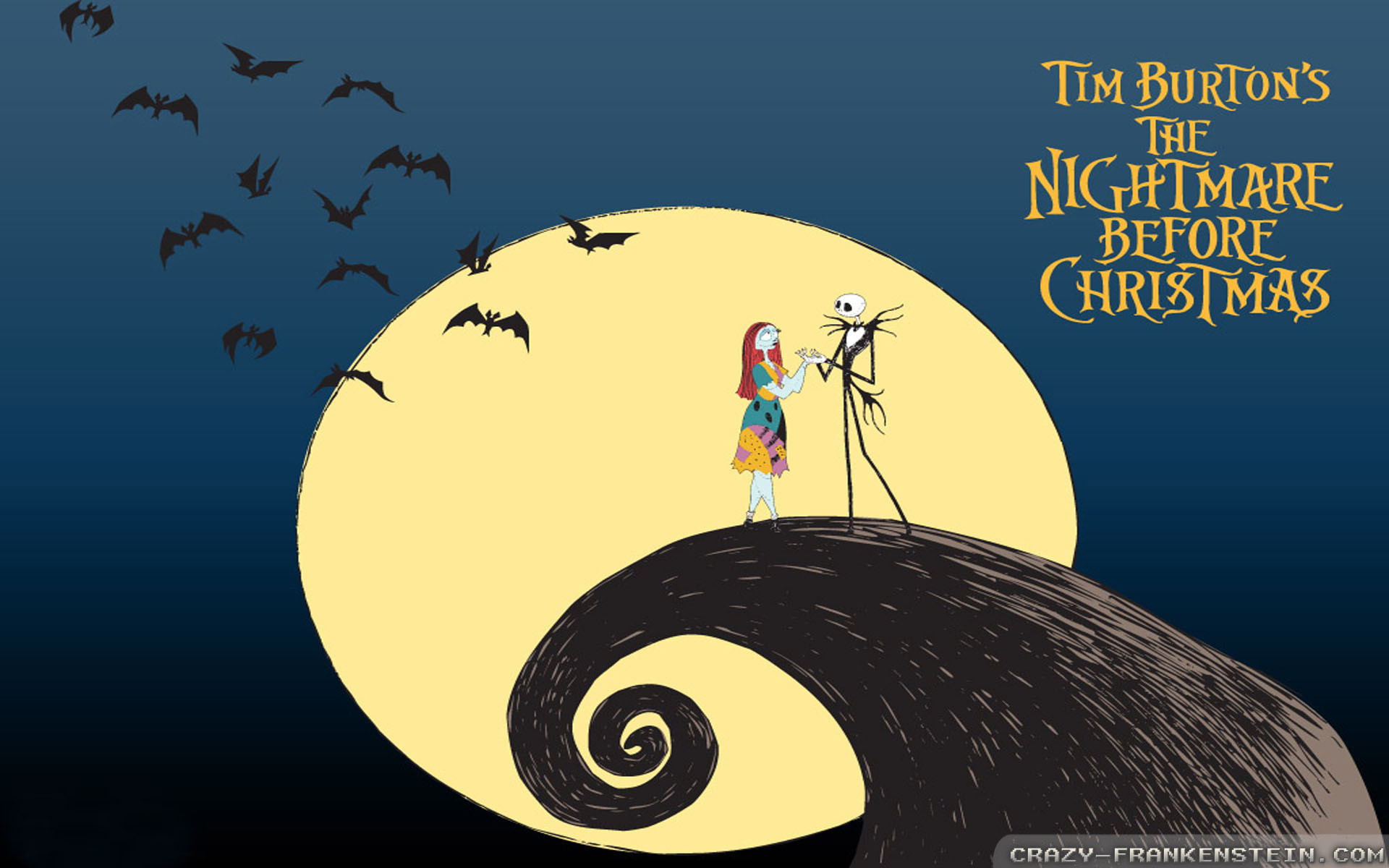 1920x1080 Nightmare Before Christmas Gif