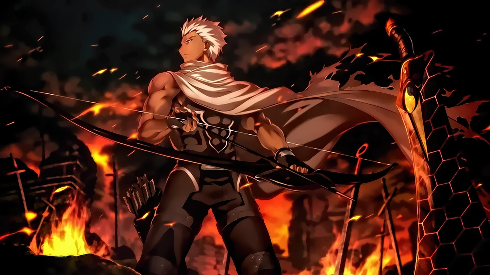 Fate Stay Night Unlimited Blade Works Wallpaper Download Free