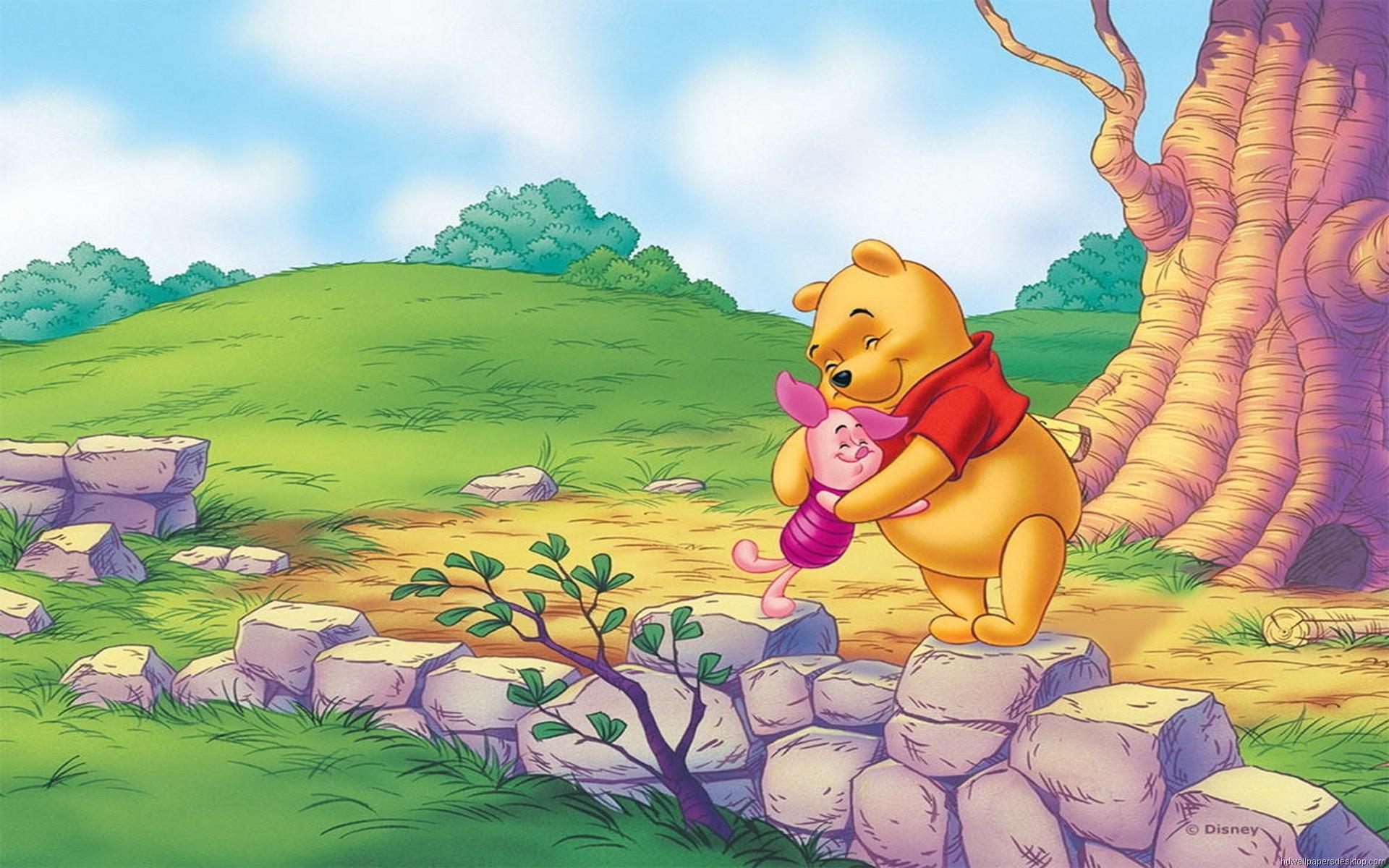 Pooh Bear Desktop Wallpaper Wallpapertag