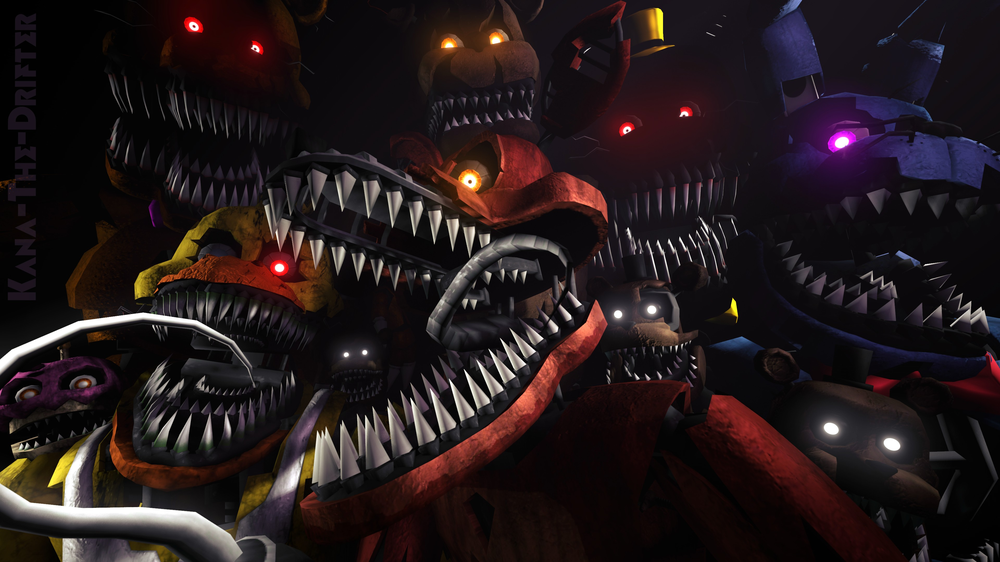 3840x2160 download free fnaf wallpaper 3840x2160