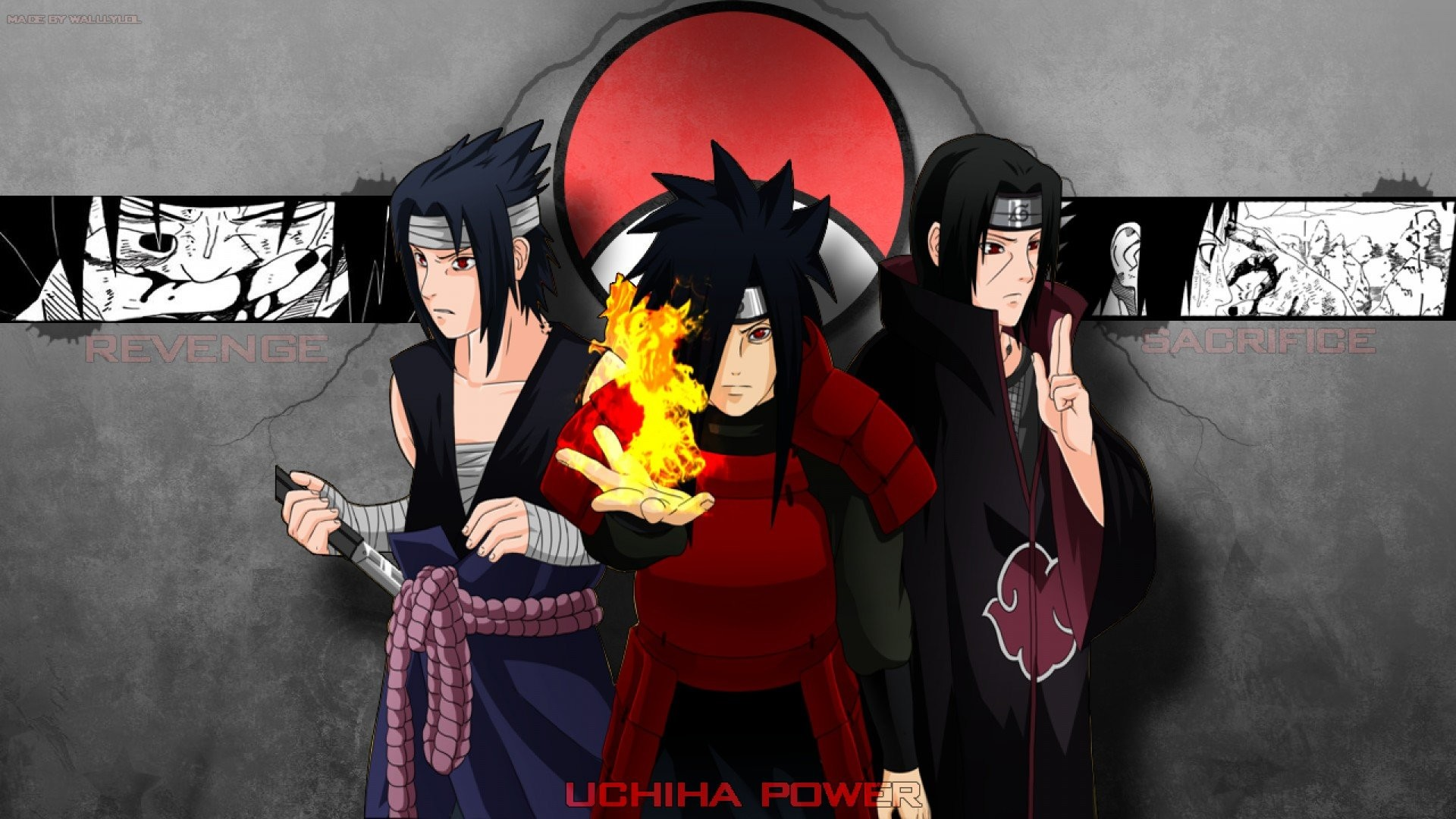 Uchiha Clan Wallpaper