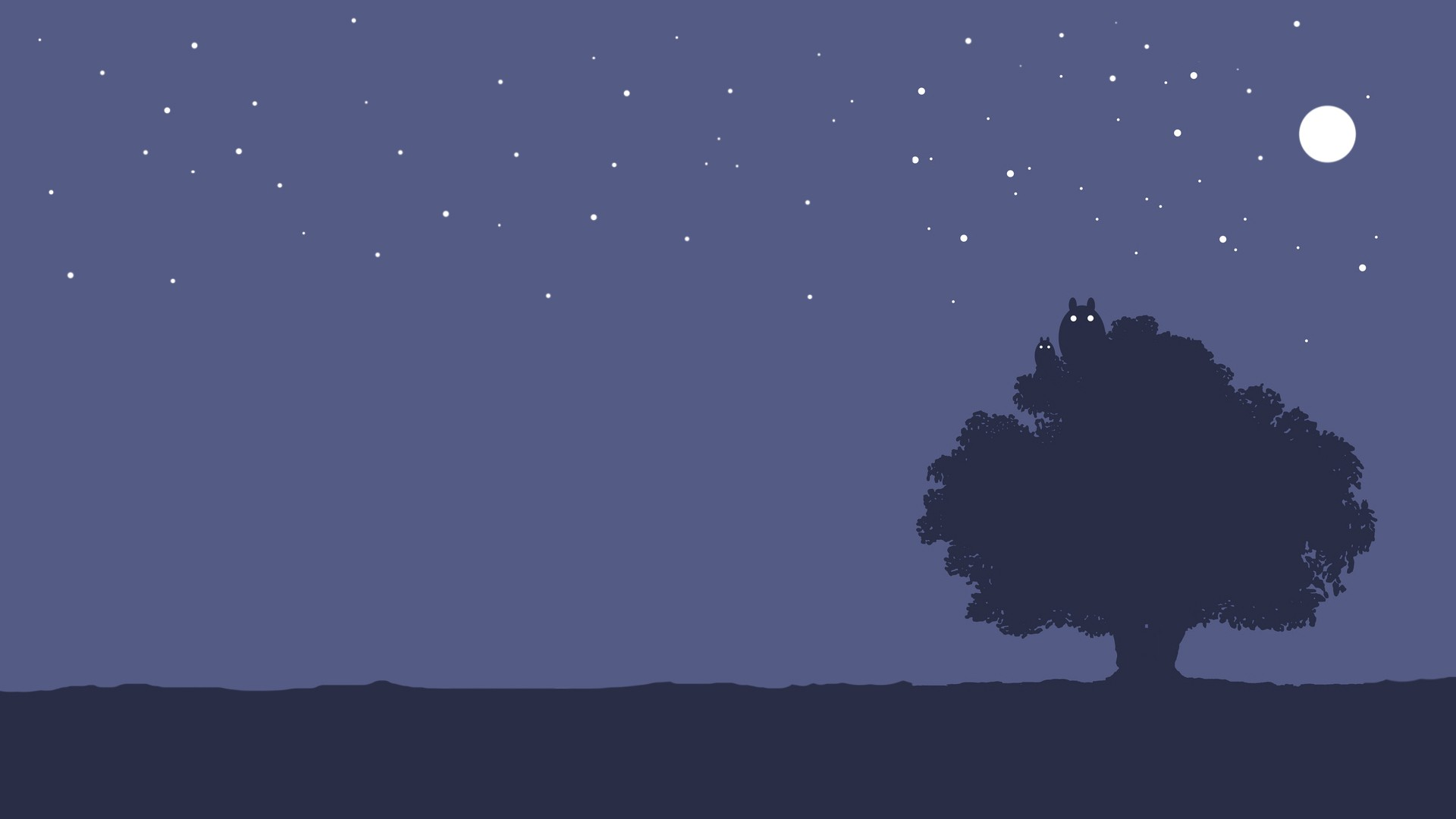 Ag17 Cute Minimal Panda Dark Illust Art: Totoro Background ·① Download Free Awesome High Resolution