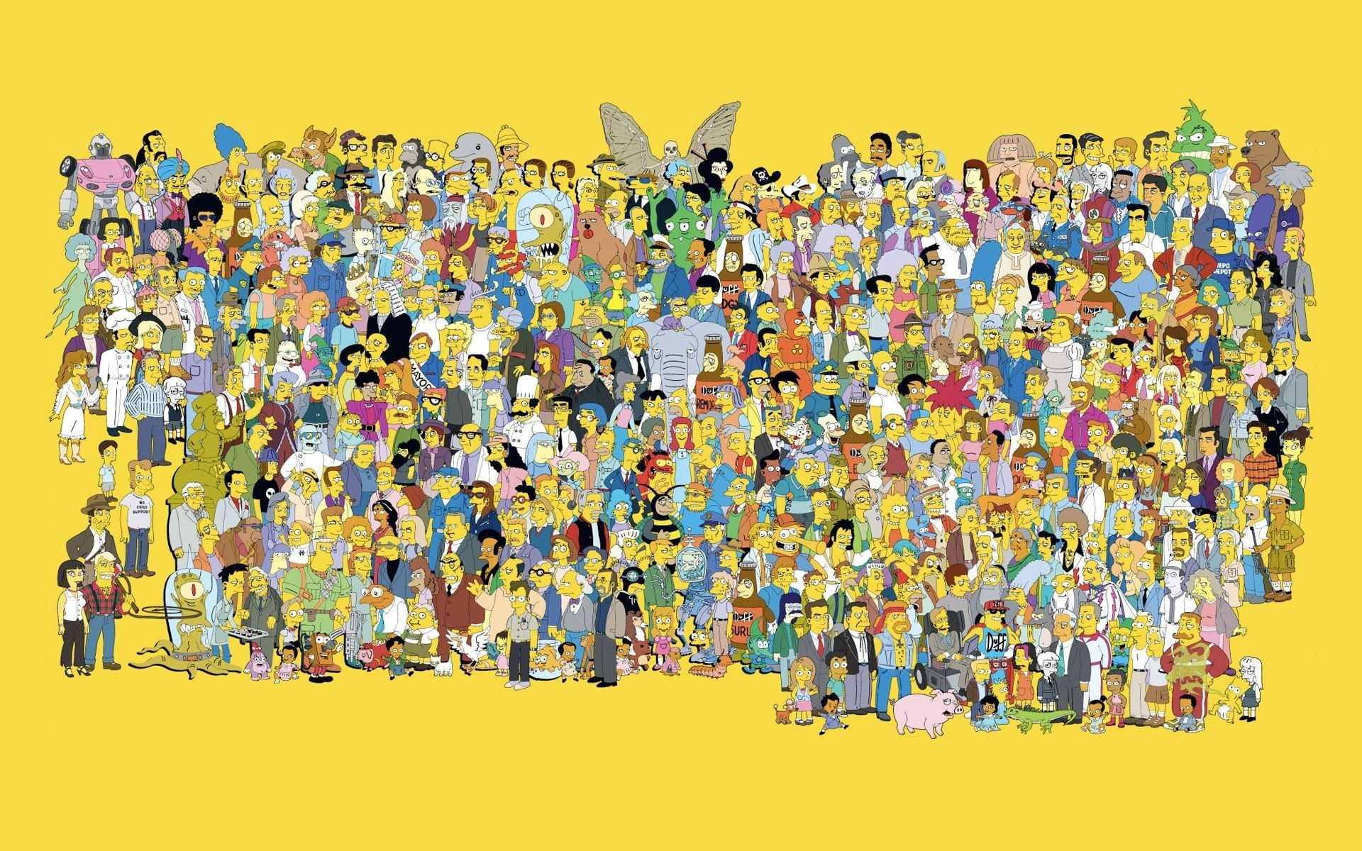 The Simpsons Wallpaper Hd Wallpapertag