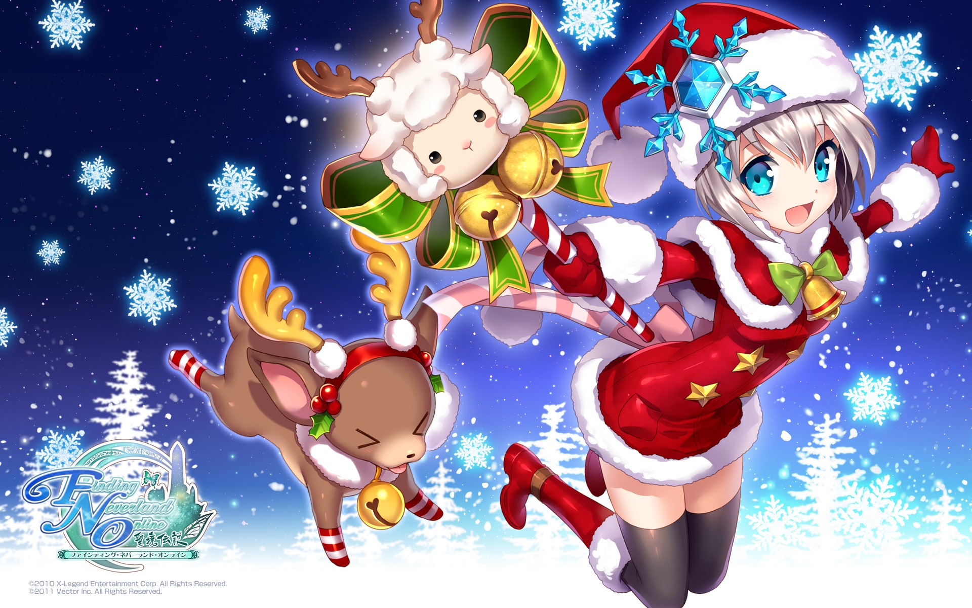 Anime Christmas Wallpaper Download Free Awesome Hd Backgrounds