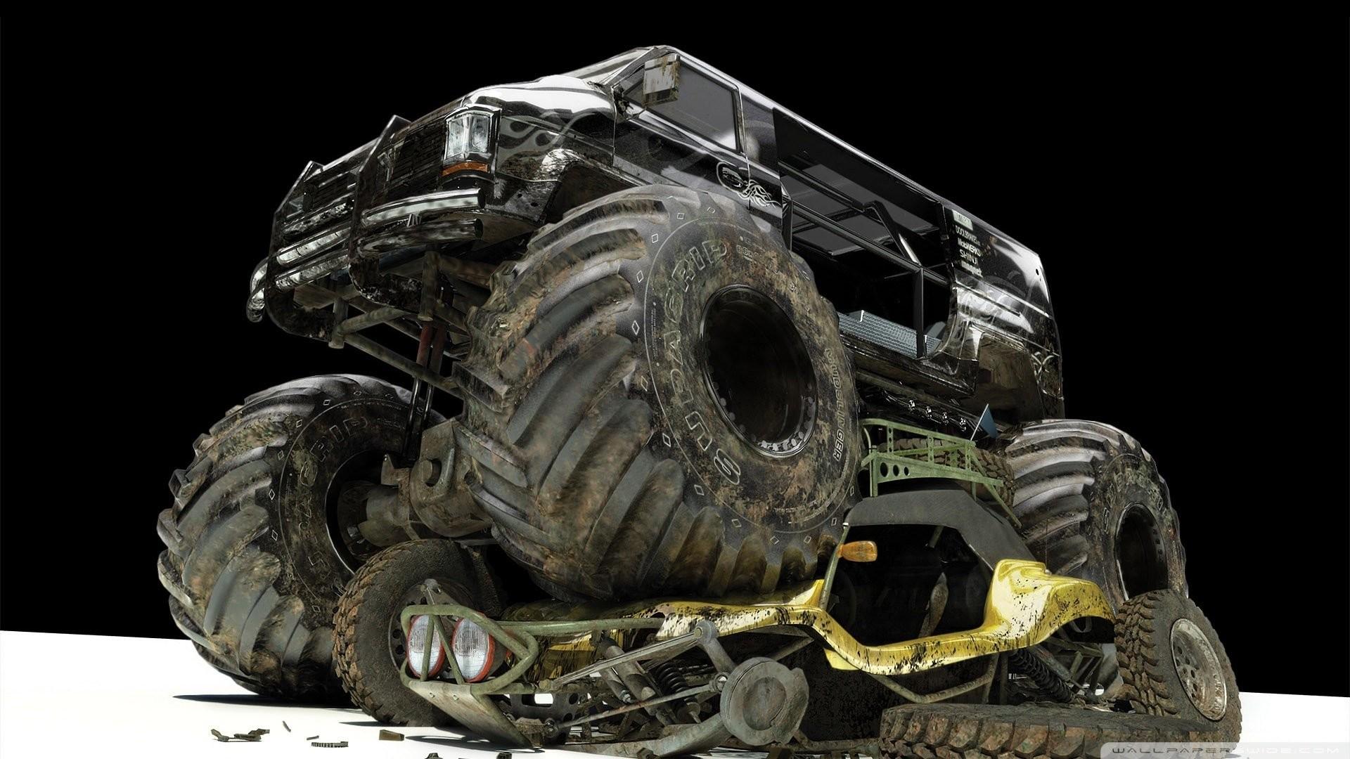 Camaro Monster Truck >> Monster Trucks Wallpaper ·①