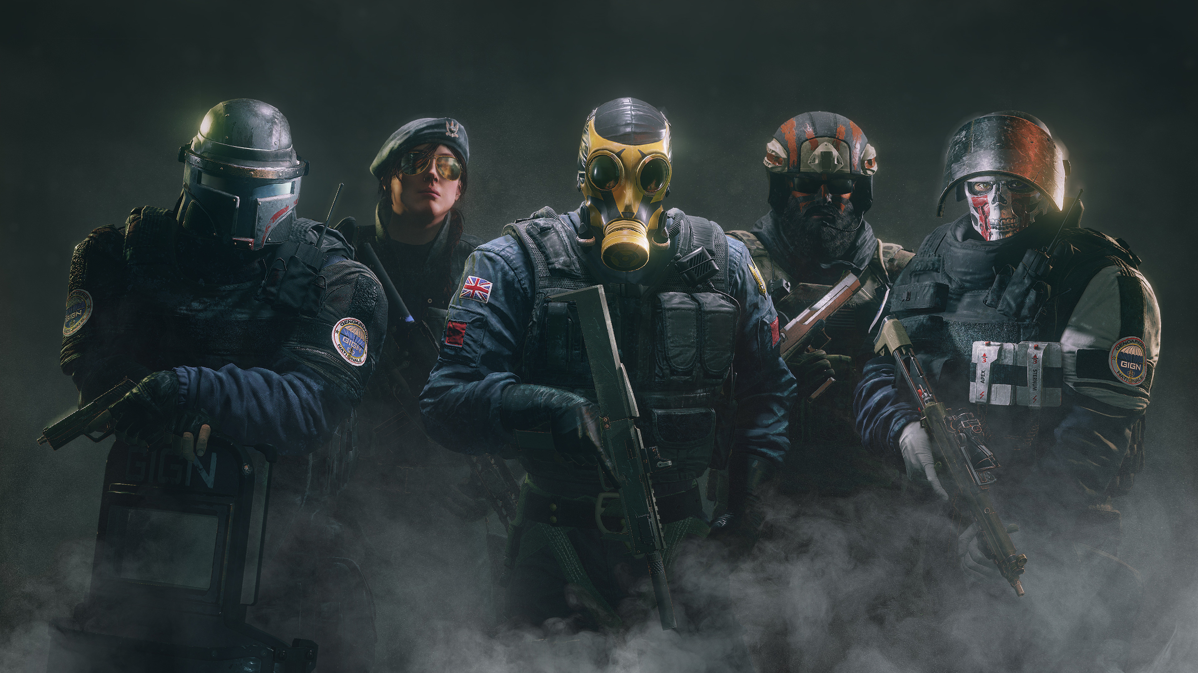 Tom Clancys Rainbow Six Wallpapers Wallpapertag