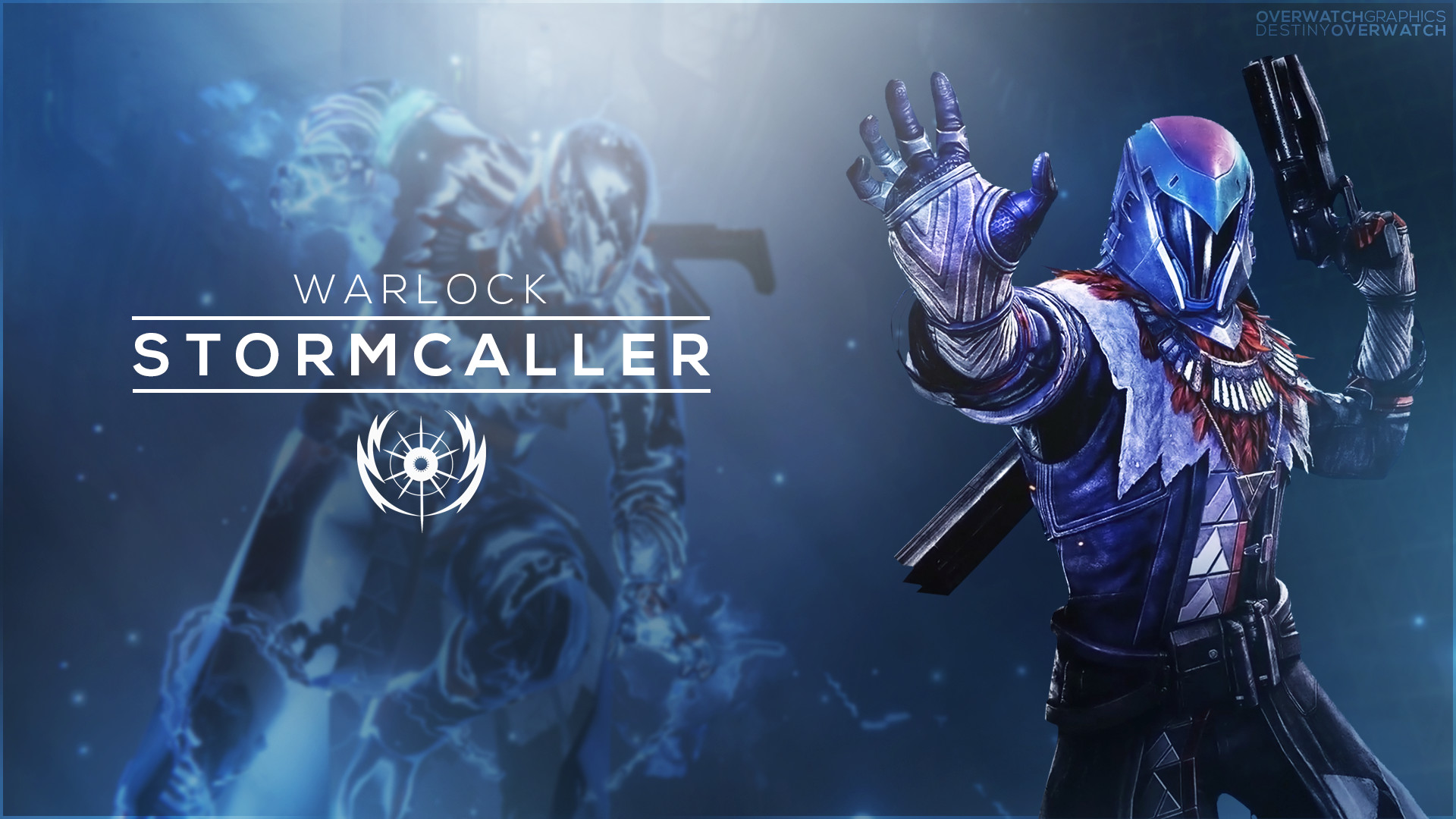 warlock destiny wallpaper ·①
