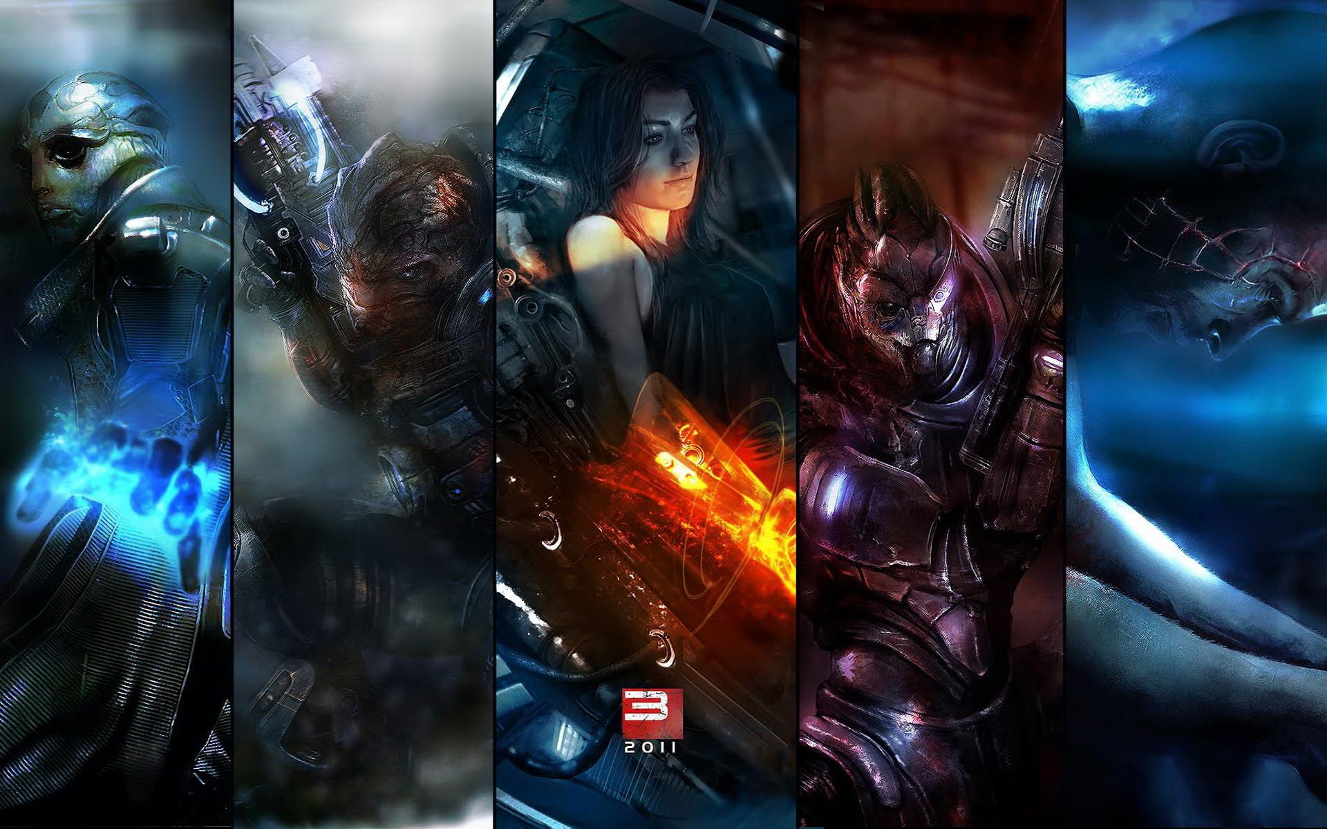 Mass Effect Desktop Wallpaper Wallpapertag