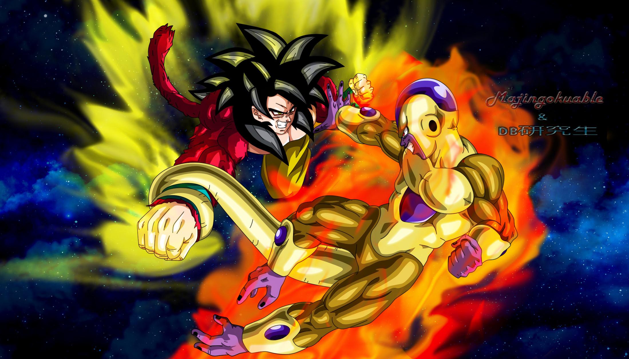 Goku Ssj4 Wallpaper ·①