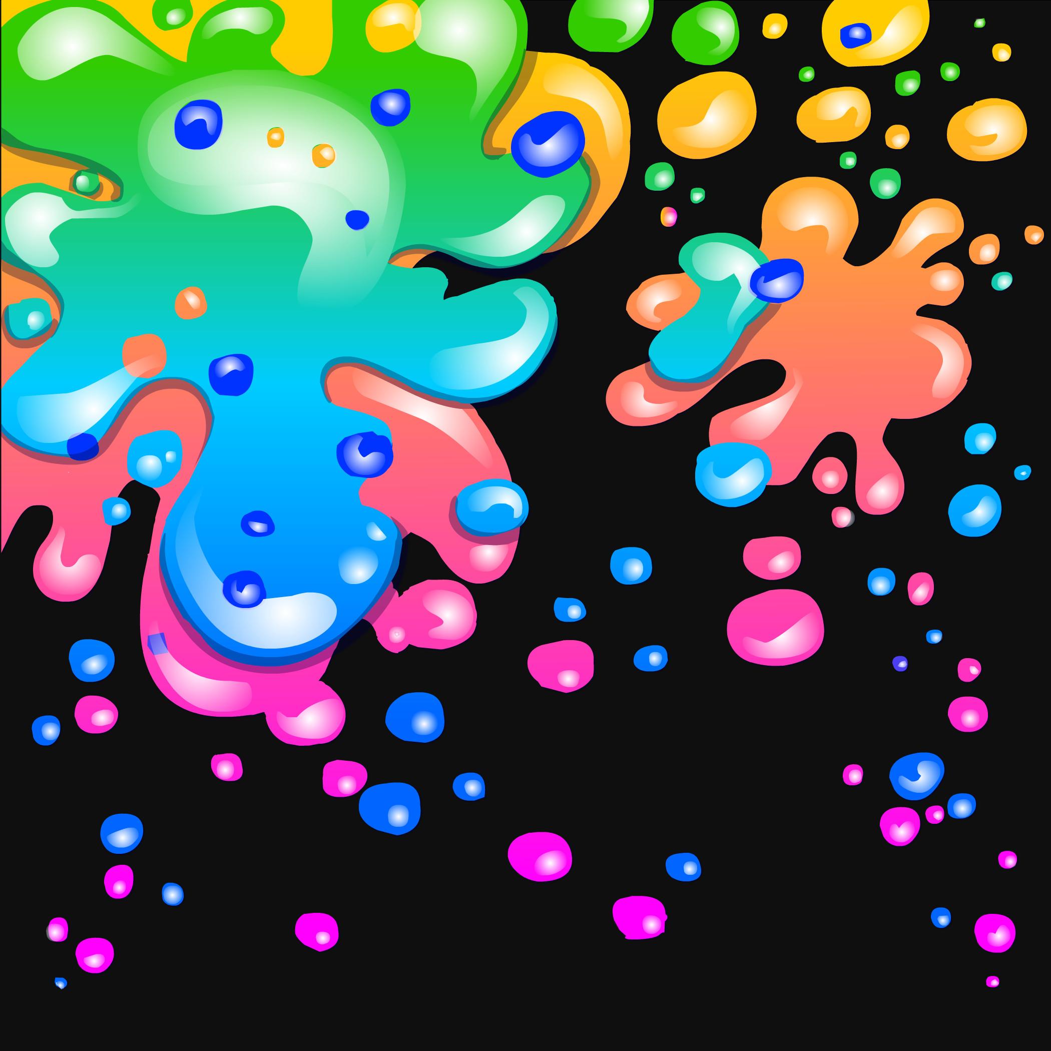 Neon Rainbow Background Designs ·①  Neon Rainbow Ba...