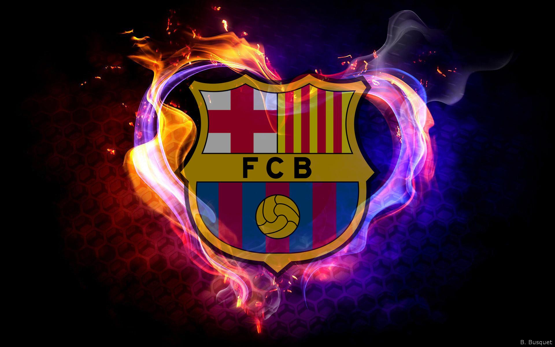 Fc Barcelona Logo Wallpaper ·① WallpaperTag