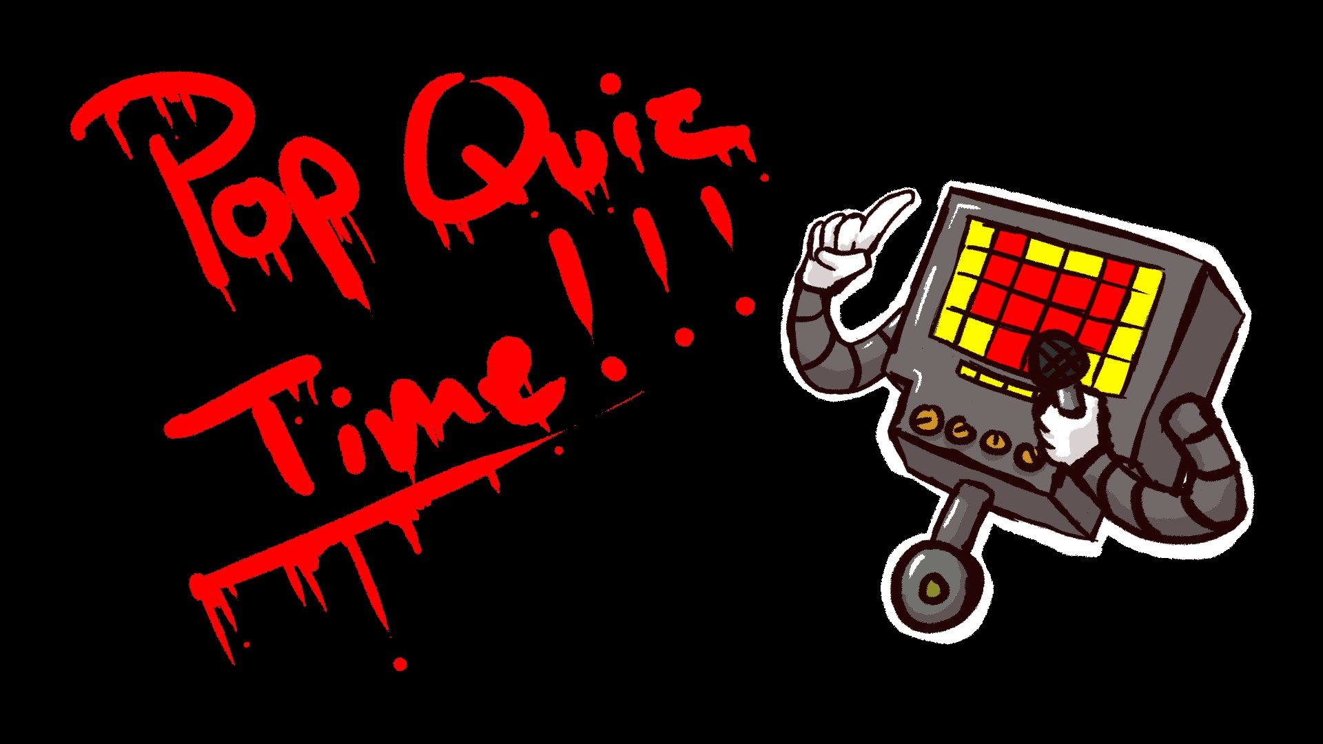 pop quiz with mettaton by getcokeful