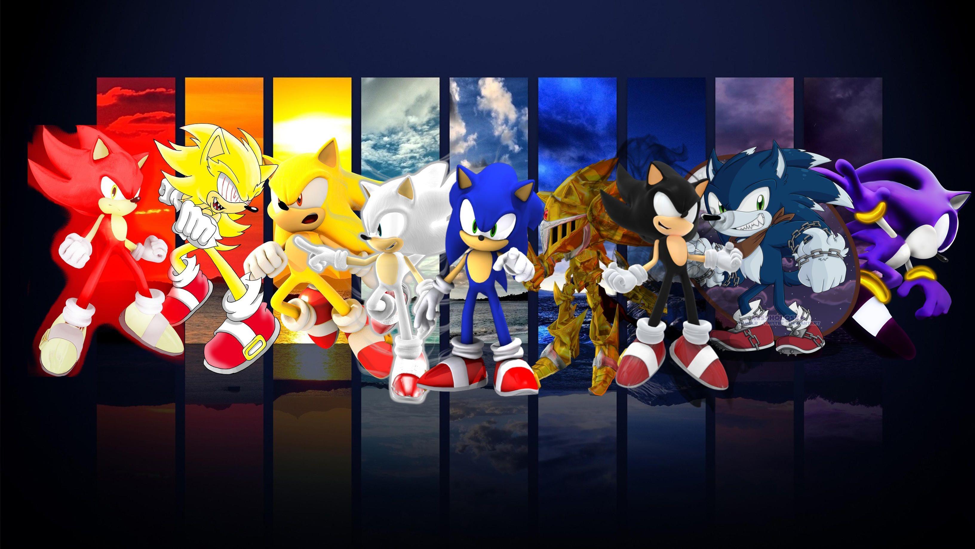 Hyper Sonic the Hedgehog Wallpaper ·① WallpaperTag