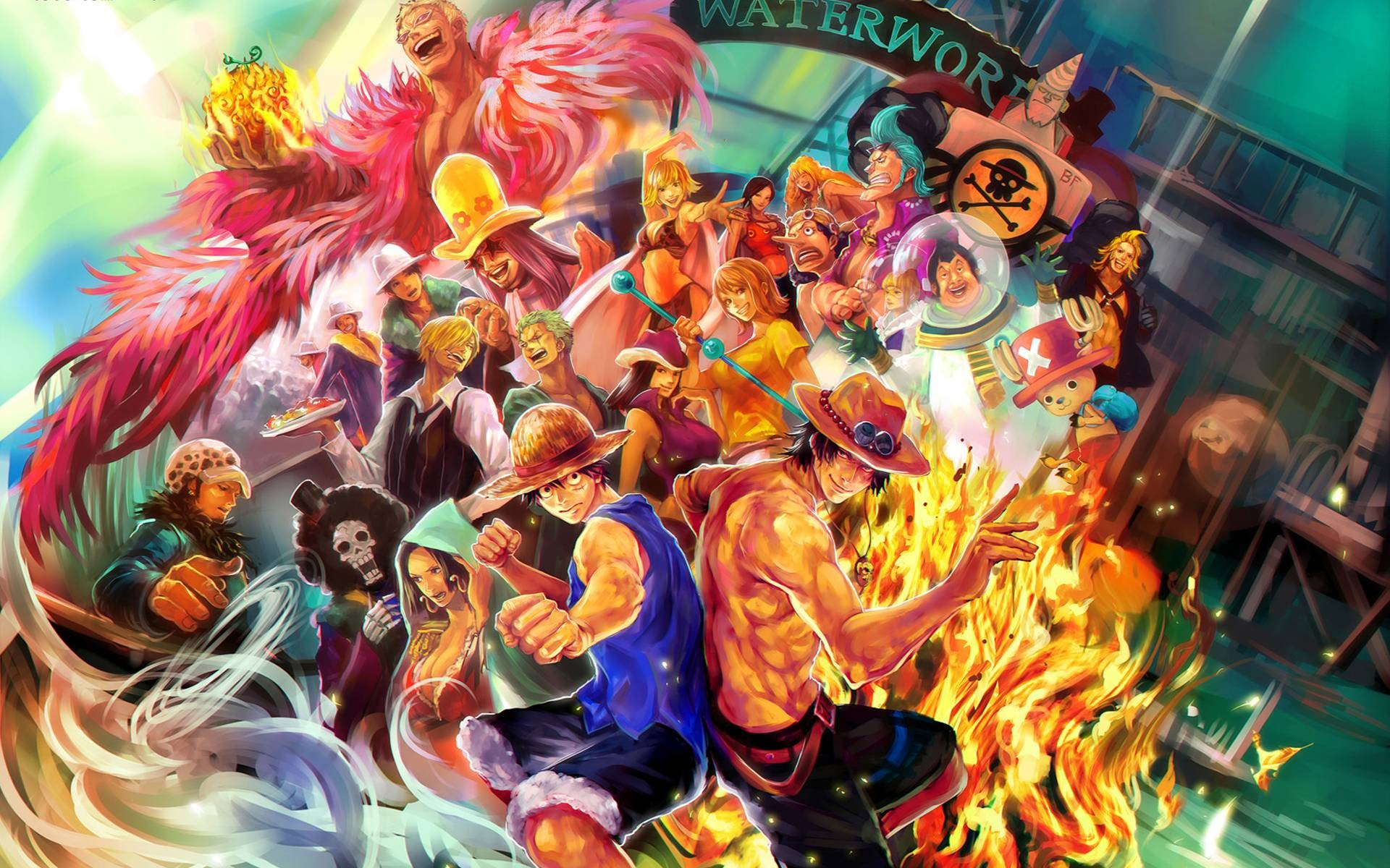 one piece wallpaper 4k  81  One Piece wallpapers ·① Download free beautiful full HD ...