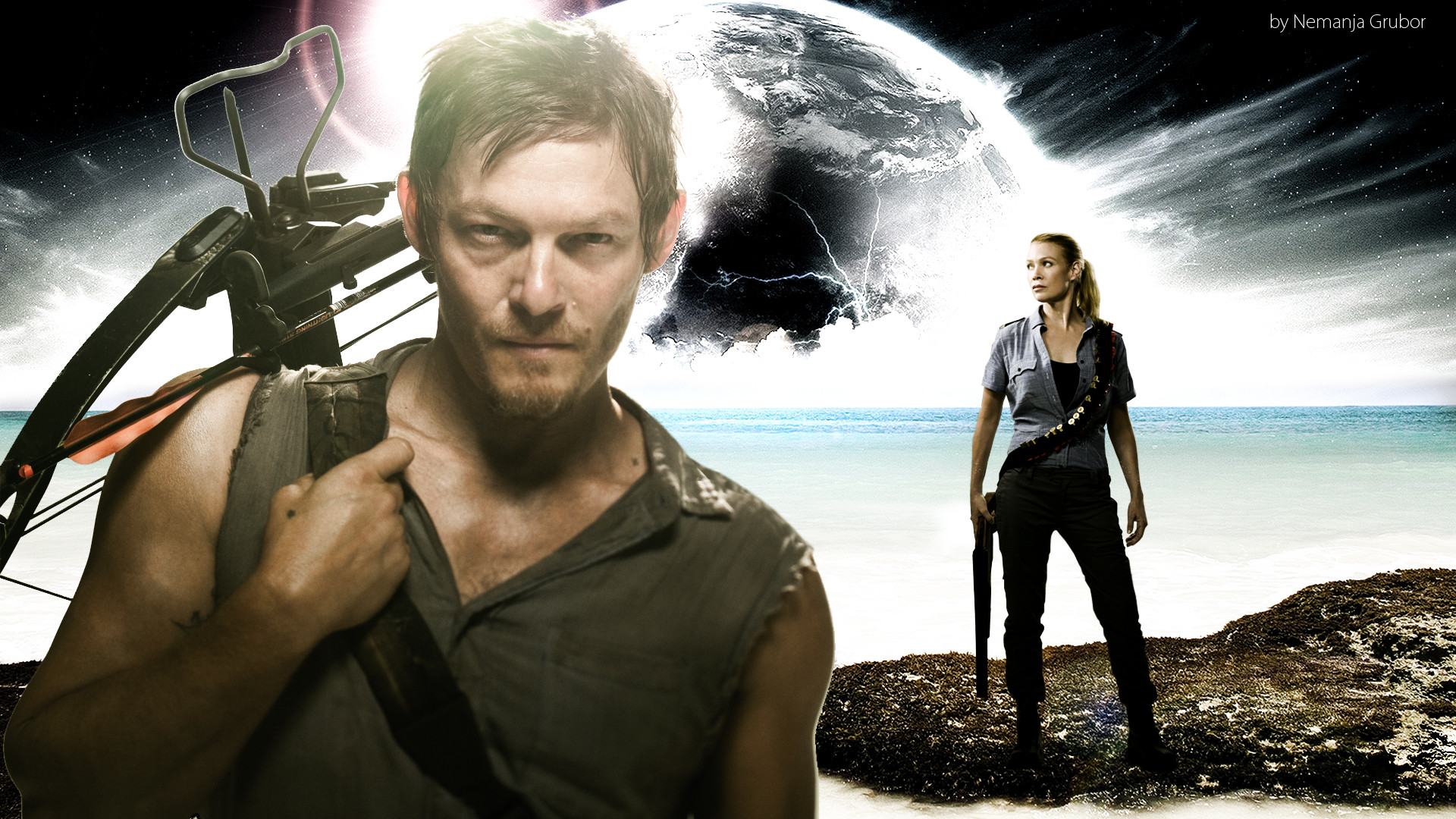 1920x1080 Daryl The Walking Dead Download 17