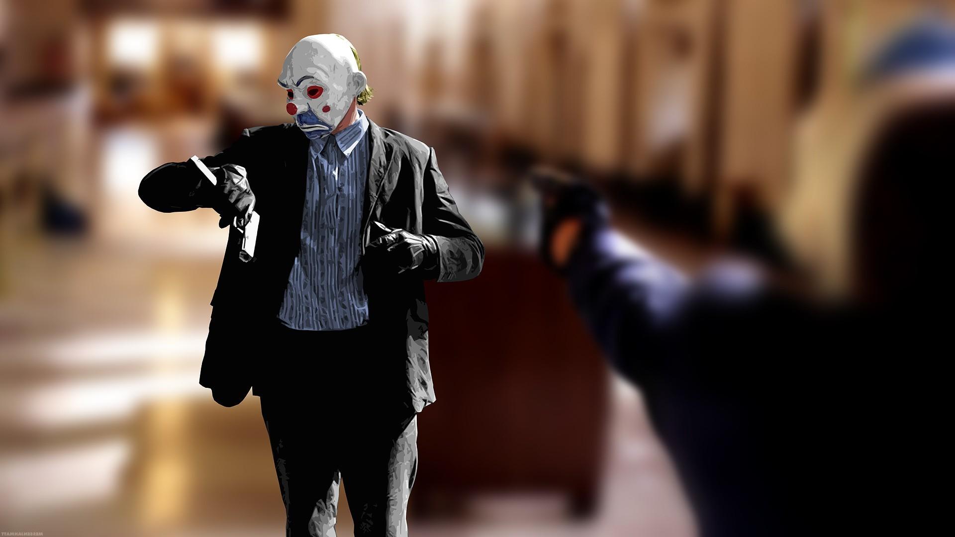 Heath Ledger Joker Wallpaper 1024x768