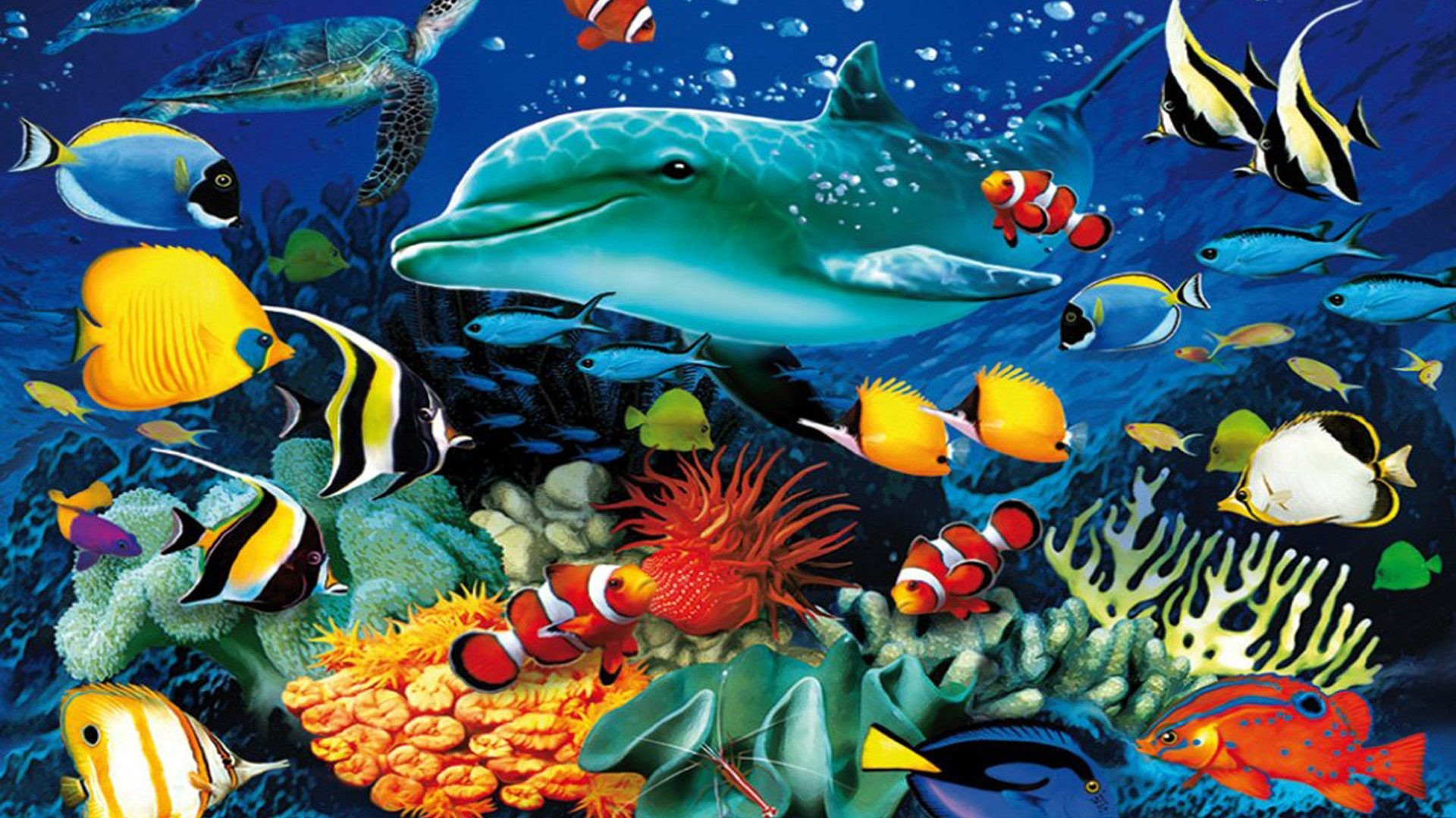 Tropical Fish Wallpaper ·① WallpaperTag