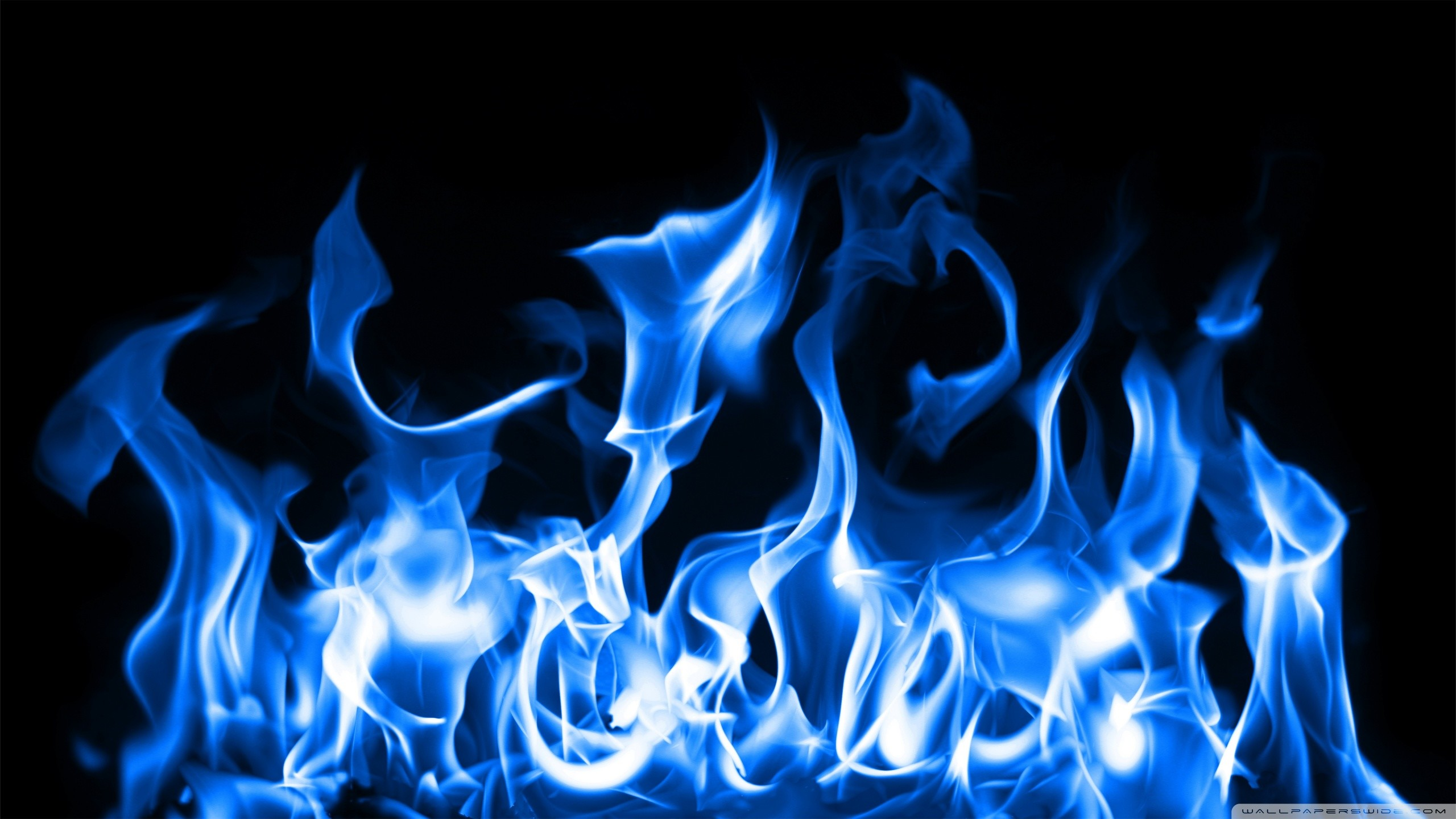 Cool Blue Fire Wallpapers