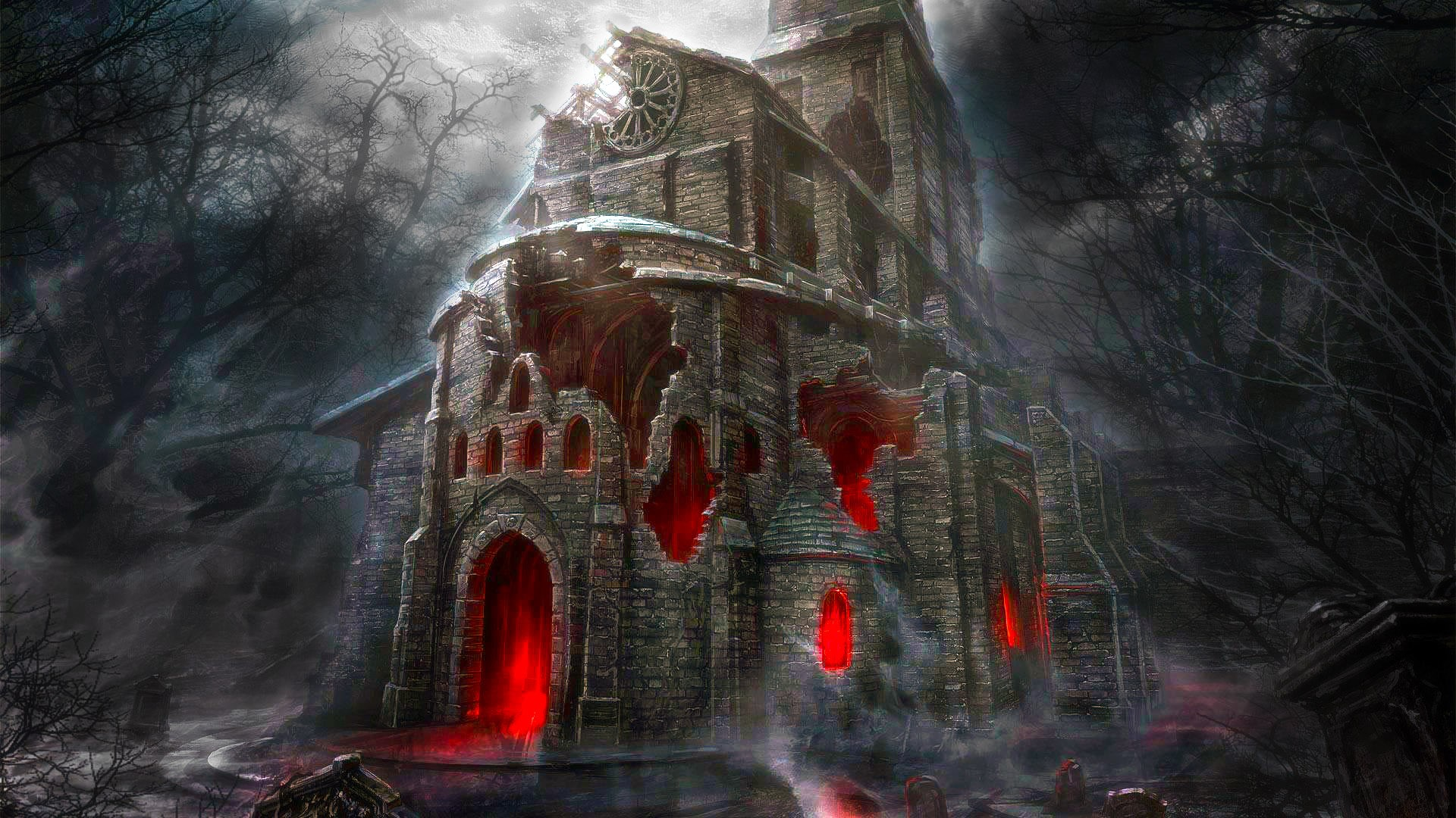 Horror wallpaper download free amazing wallpapers for - Scary animated backgrounds ...