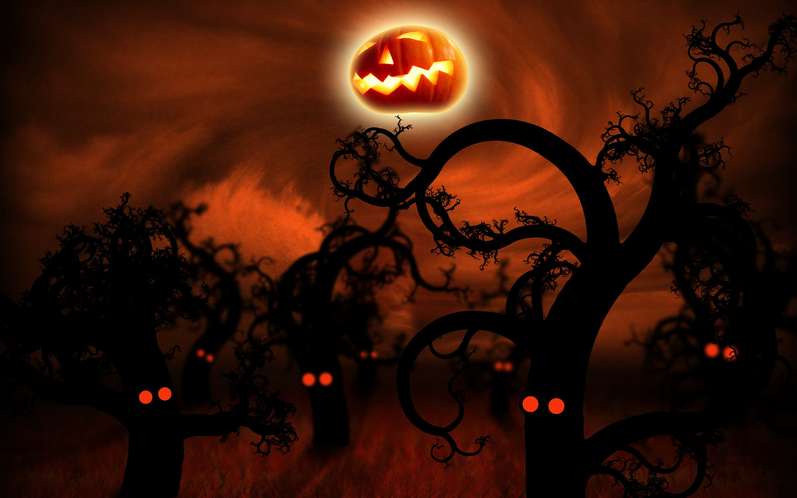 64 Halloween Desktop Backgrounds Download Free Cool