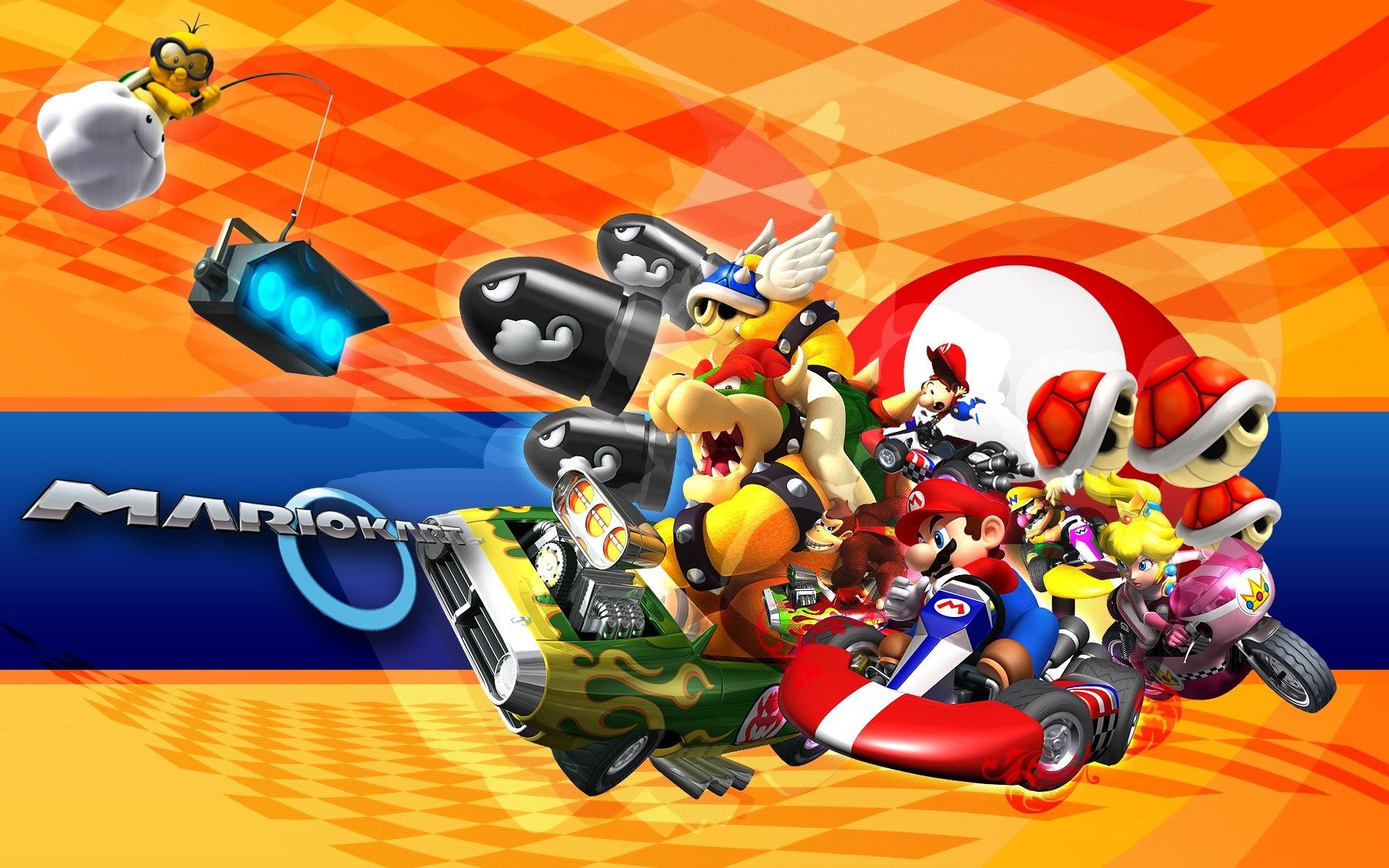 Mario Kart Wii Wallpaper Wallpapertag