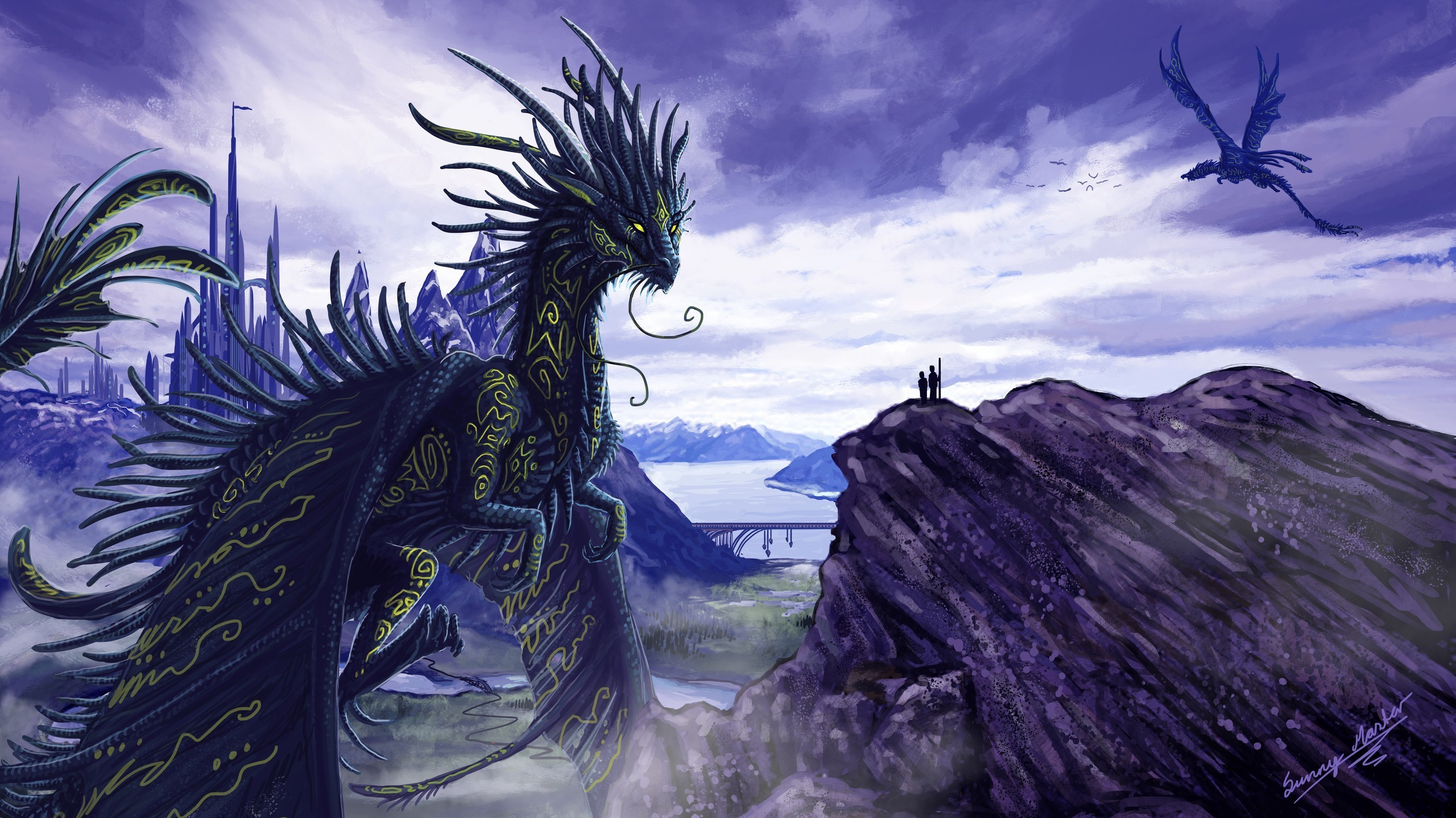 Blue dragon wallpaper wallpapertag - Dragon backgrounds 1920x1080 ...