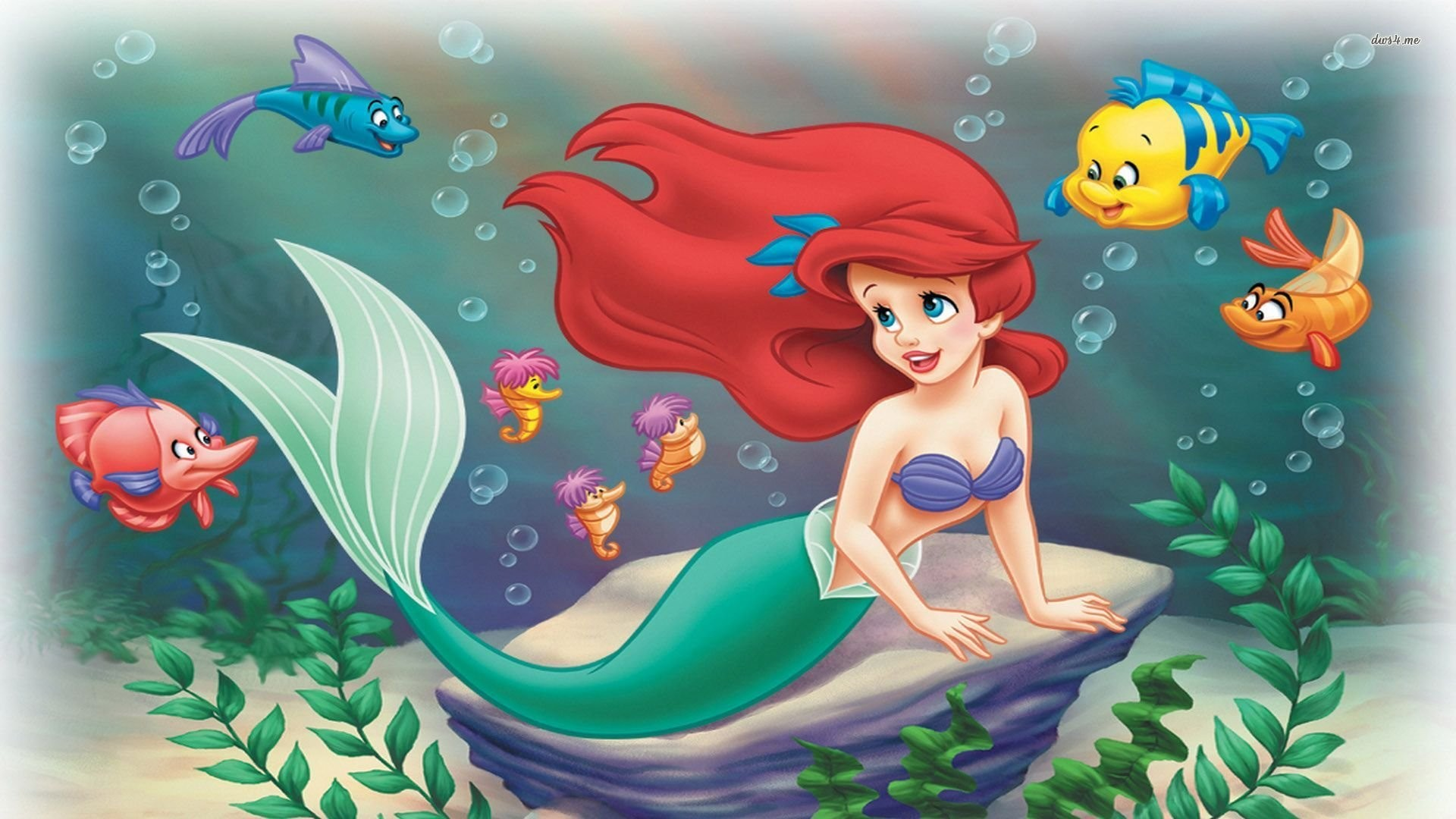 Little Mermaid Wallpaper ·① Download Free Cool HD