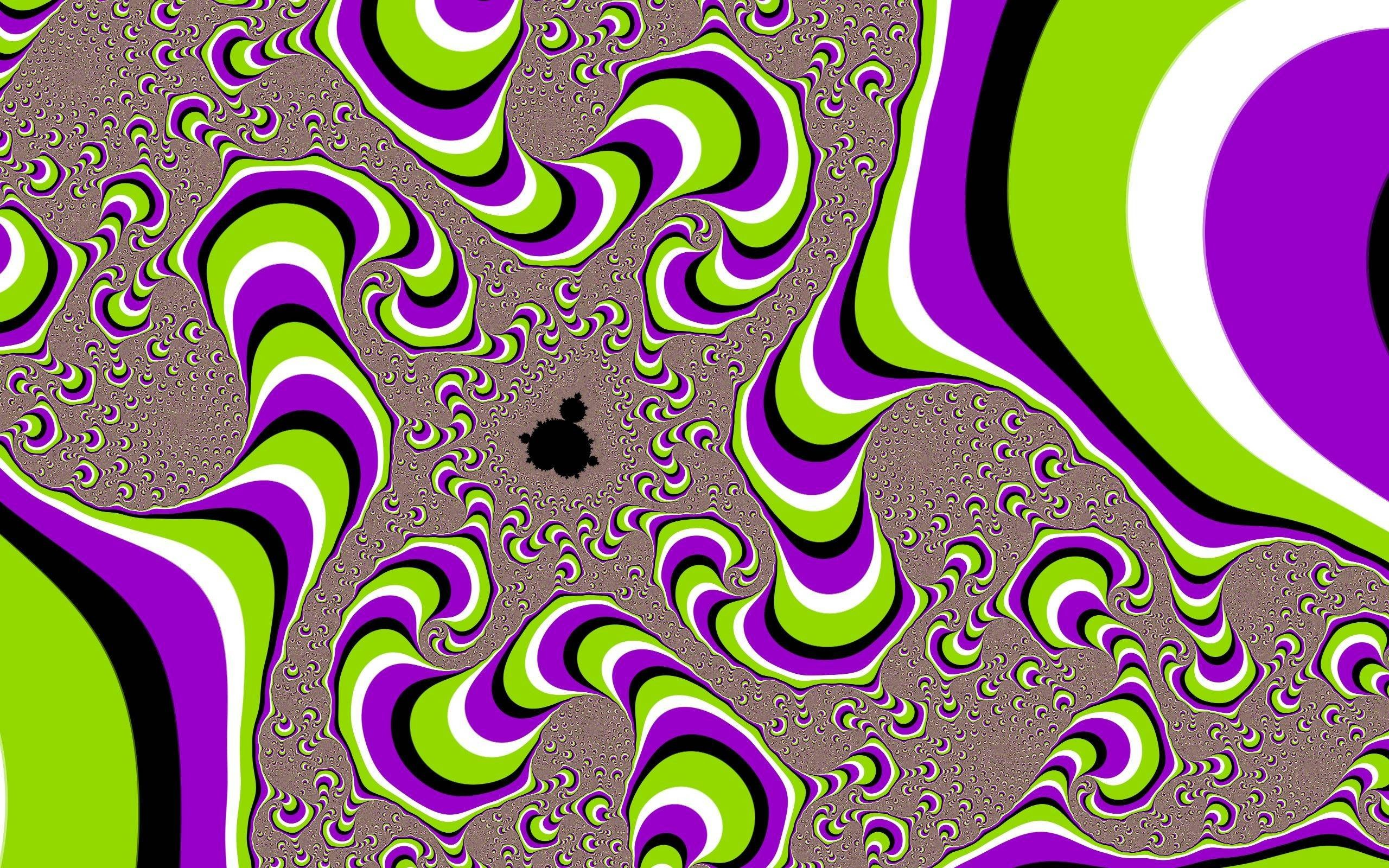 Illusion optical backgrounds for desktop photos