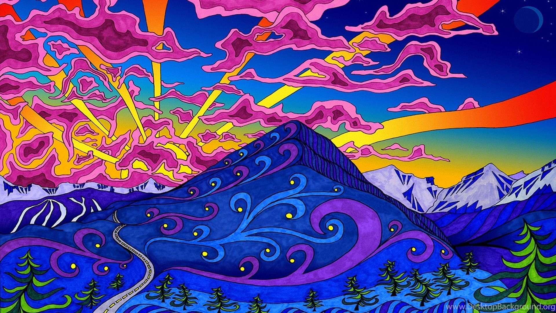 Full Hd Trippy Wallpapers New Wallpapers