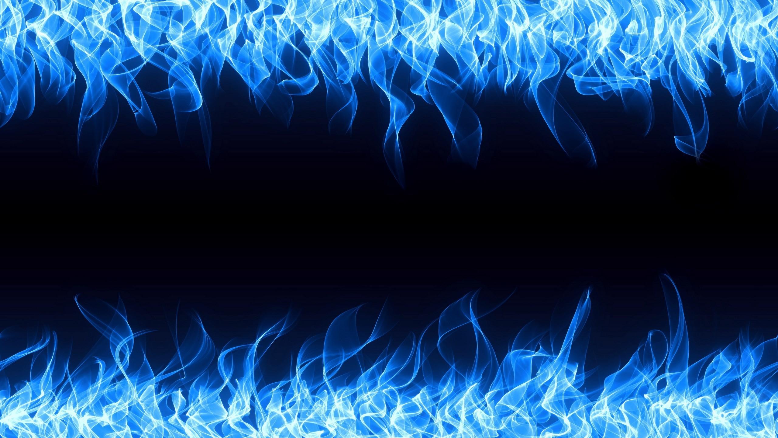 Blue Flame Wallpaper 1