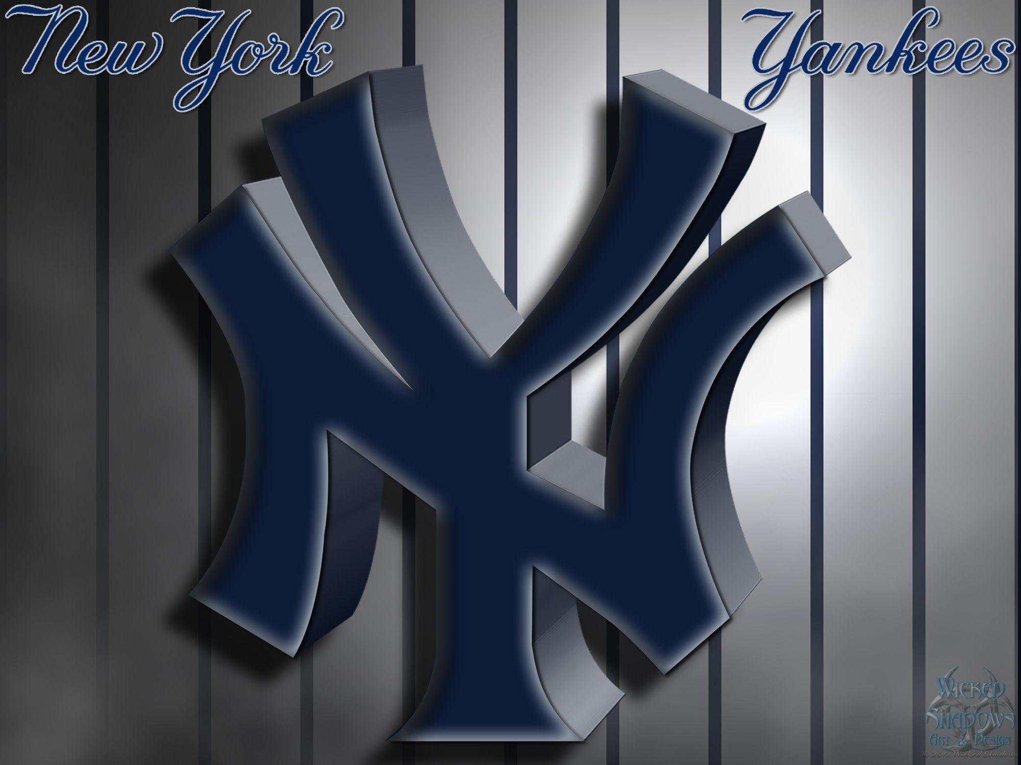 New York Yankees Logo Wallpaper Wallpapertag