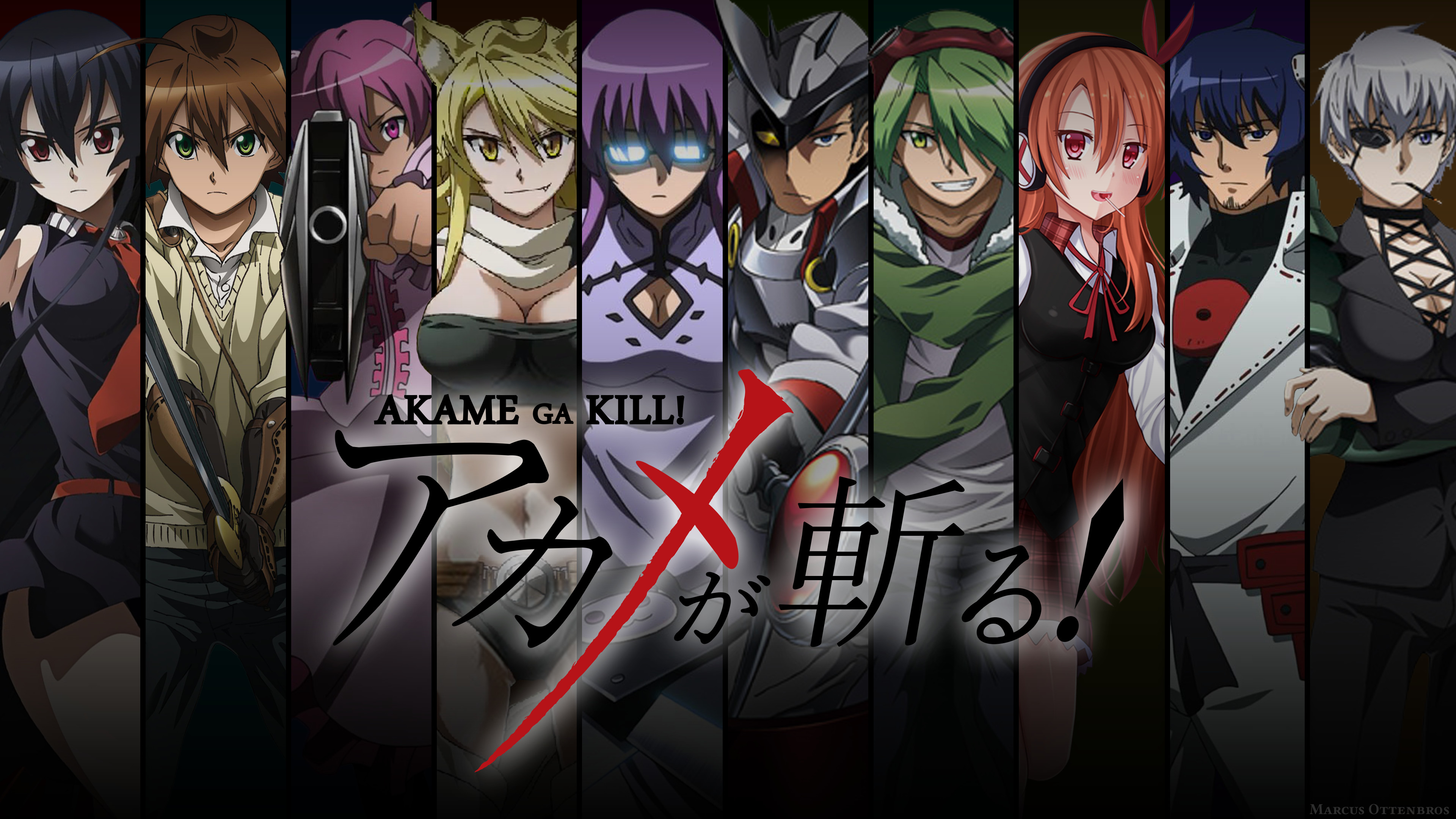 Akame Ga Kill Wallpapers Wallpapertag