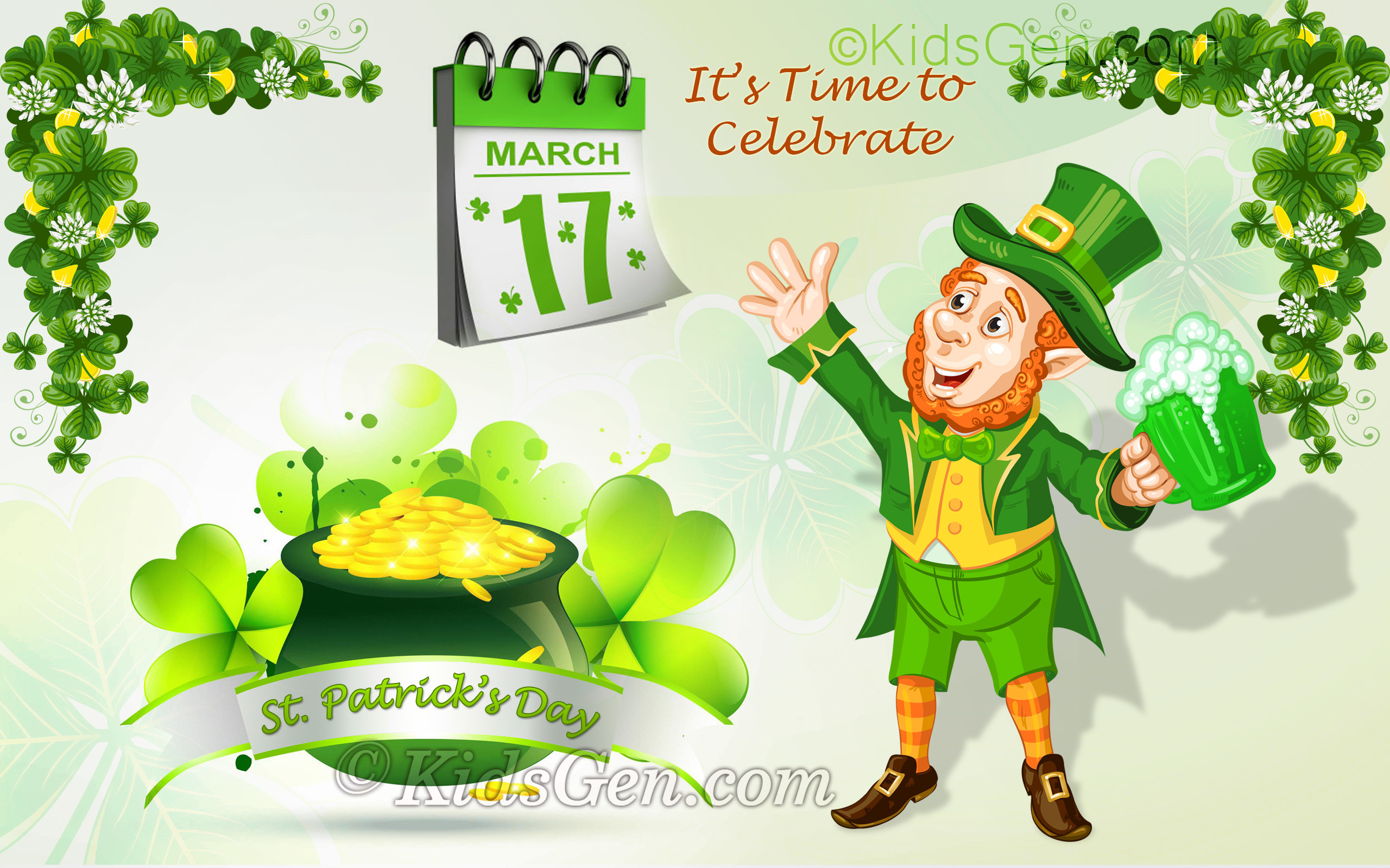 Saint Patrick Day Wallpaper Wallpapertag