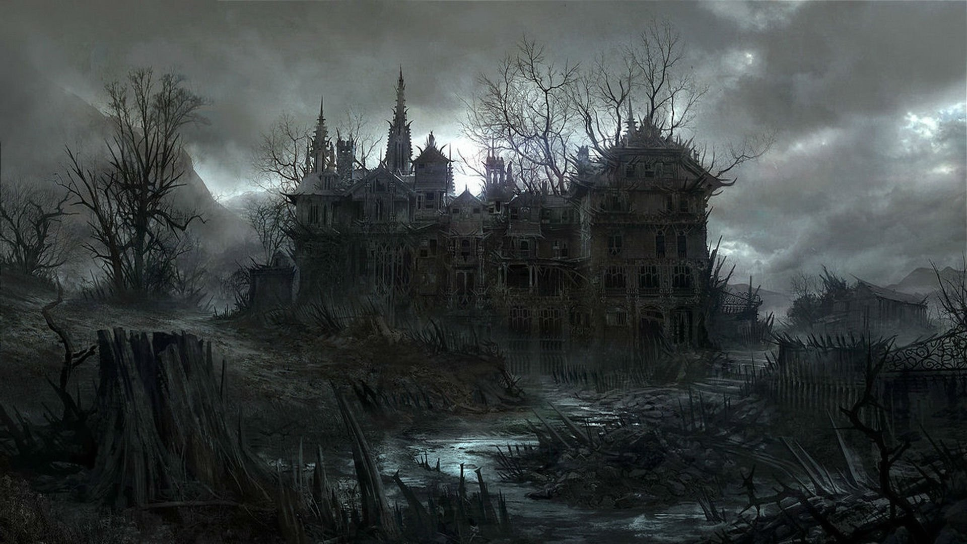 Spooky wallpaper ·① Download free amazing High Resolution ...