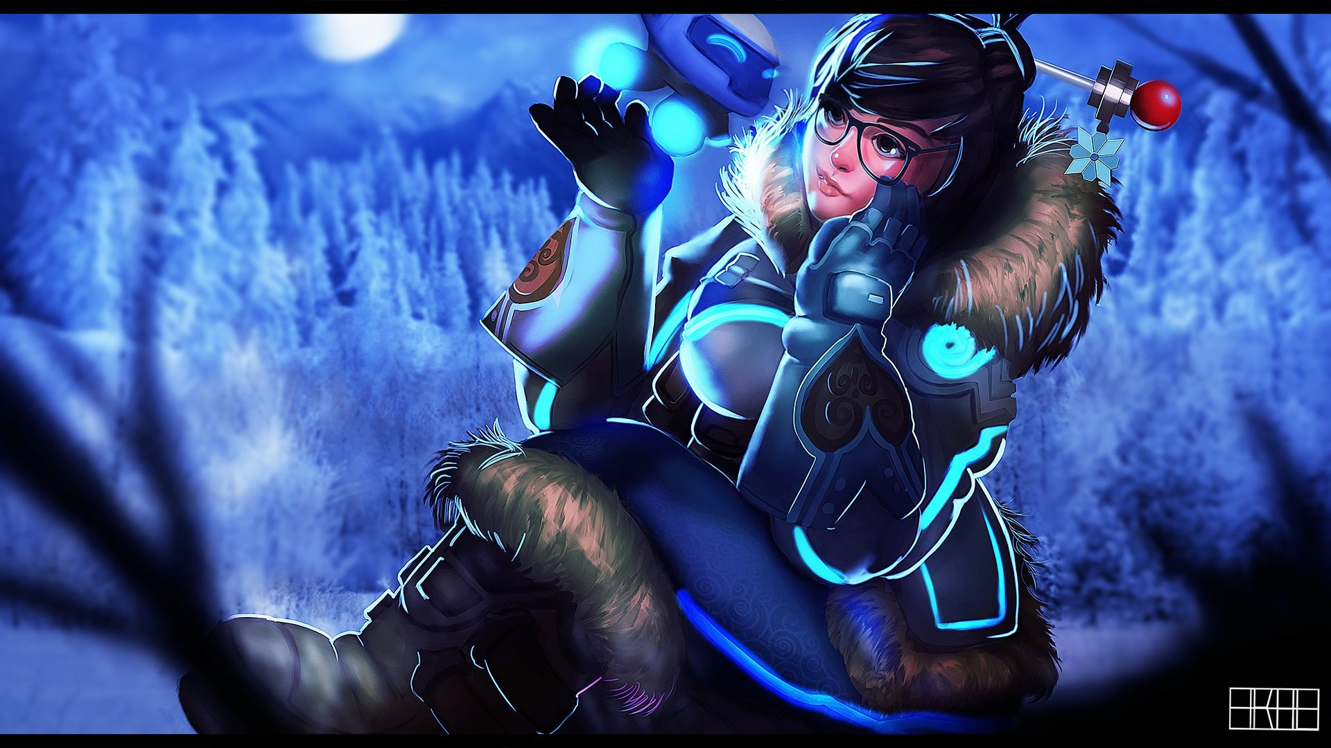 Overwatch Mei wallpaper ·① Download free wallpapers for ...