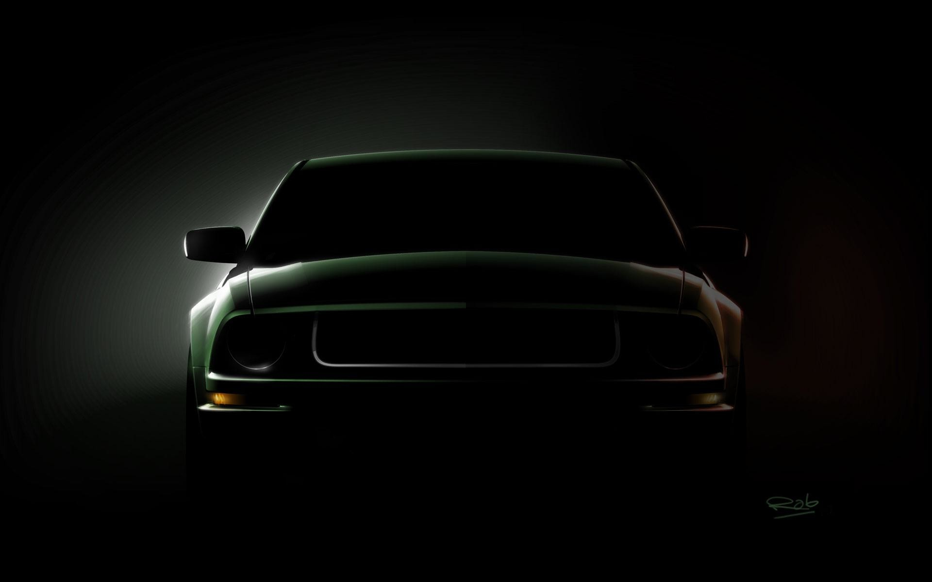 Mustang Logo Wallpaper