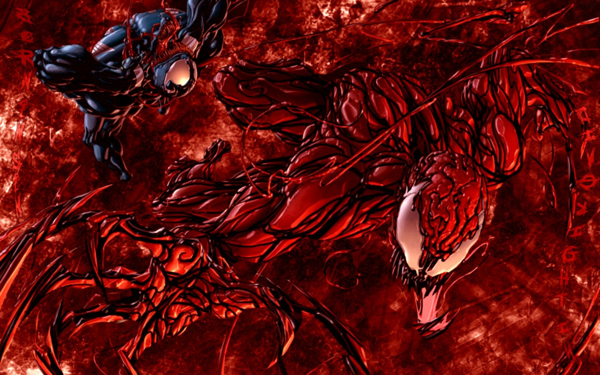 Carnage vs Venom Wallpaper ·① WallpaperTag