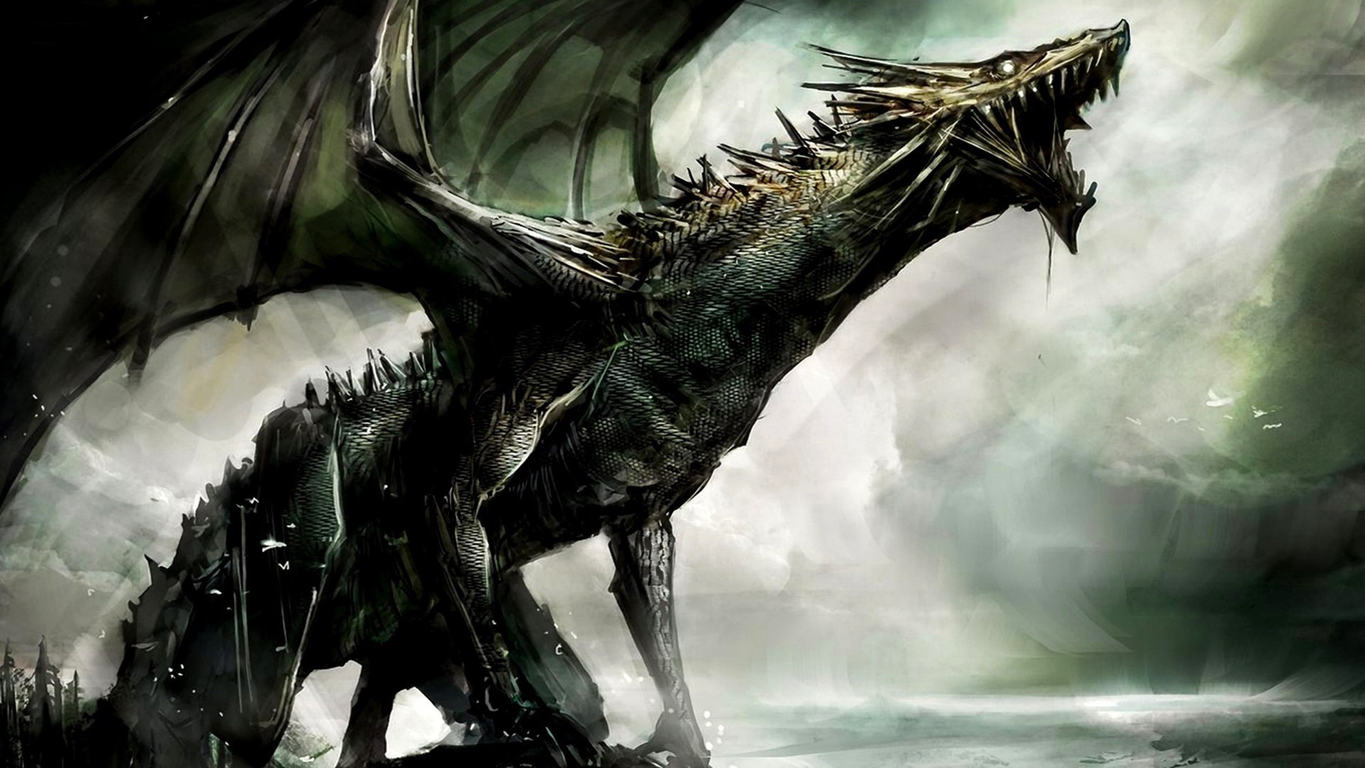 Dark Dragon Wallpaper Wallpapertag