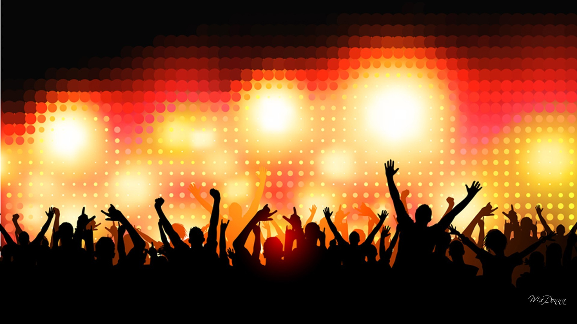 Club background download free awesome hd wallpapers for - Concert crowd wallpaper ...