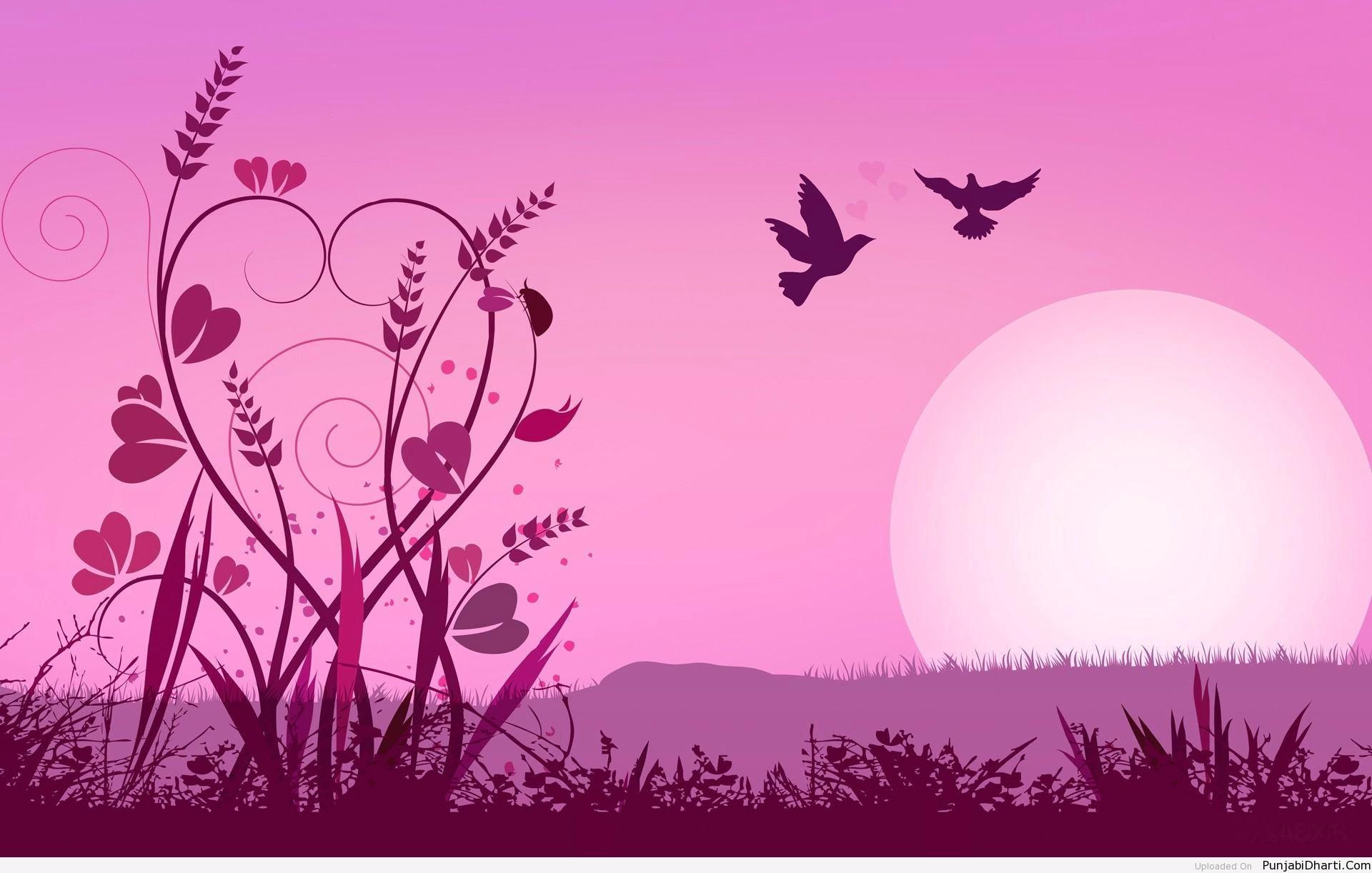 pink love background 183��
