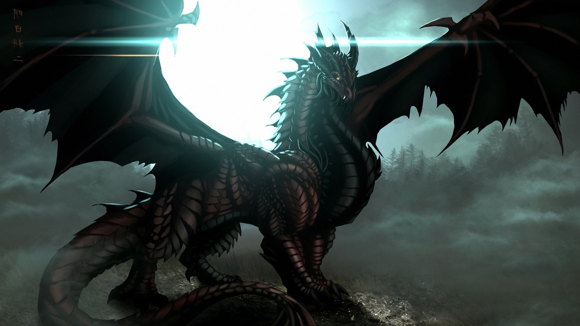 Black Dragon Wallpaper ·① WallpaperTag