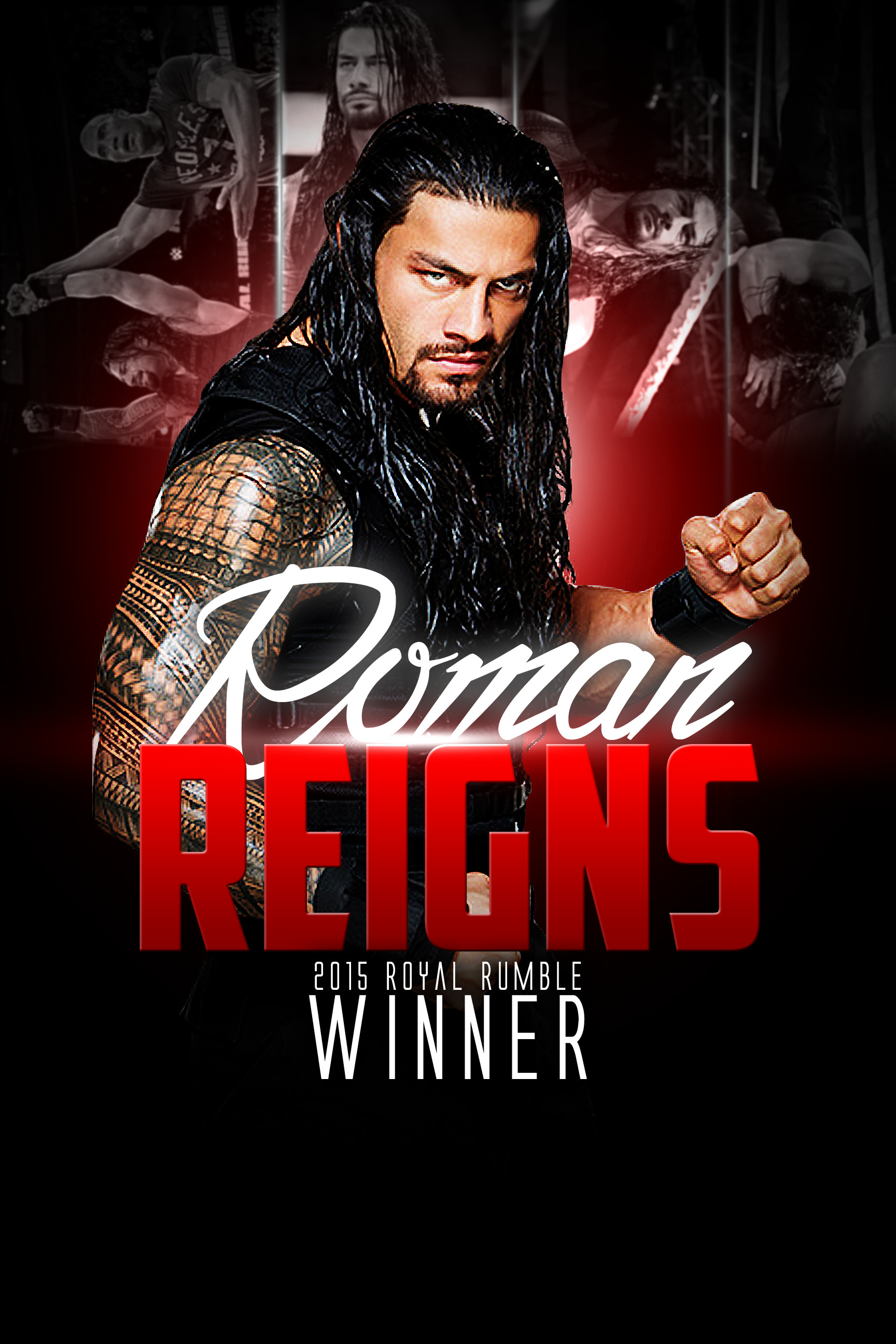 1728x2592 Roman Reigns Wallpaper By YosifMohammed