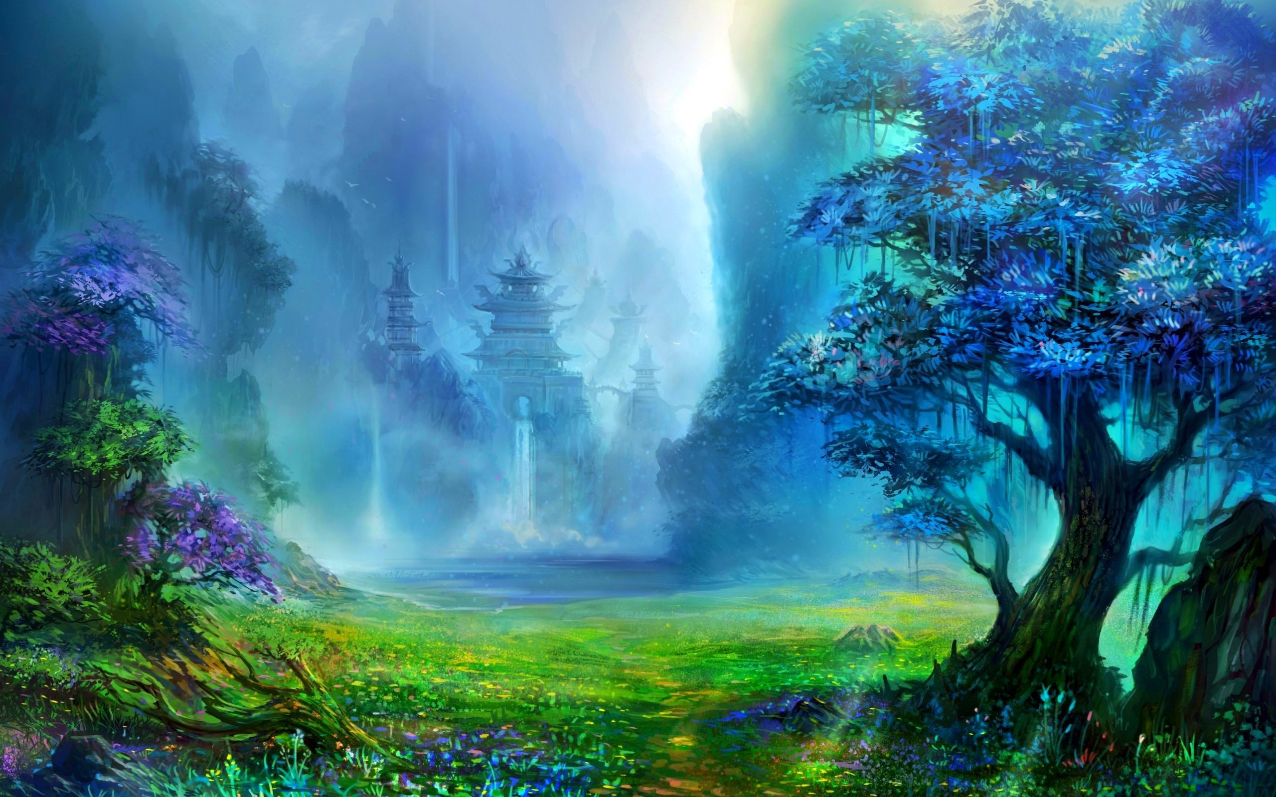 Fantasy nature wallpaper wallpapertag - 3d fantasy wallpaper ...