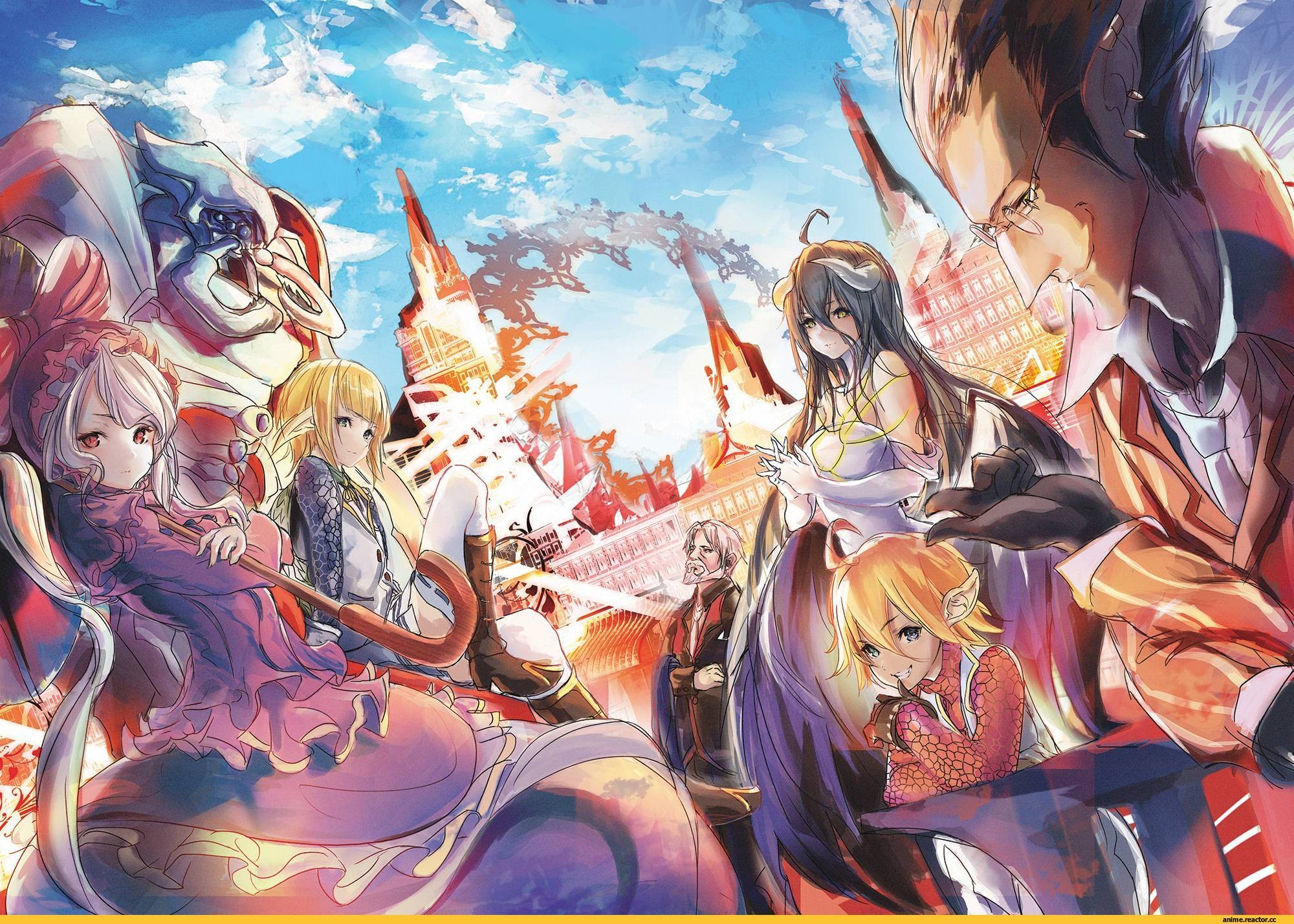 Overlord anime wallpaper download free stunning - Anime 1920x1080 ...