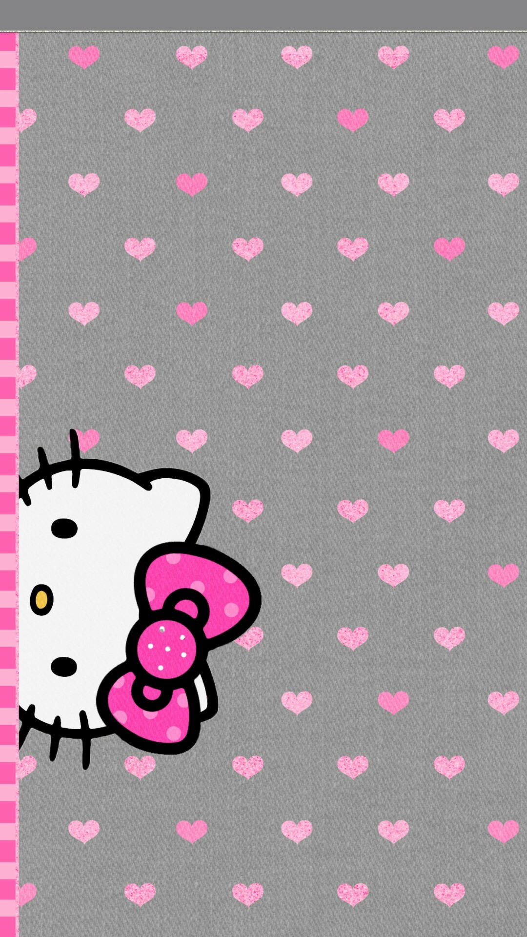 Black And Pink Hello Kitty Wallpaper