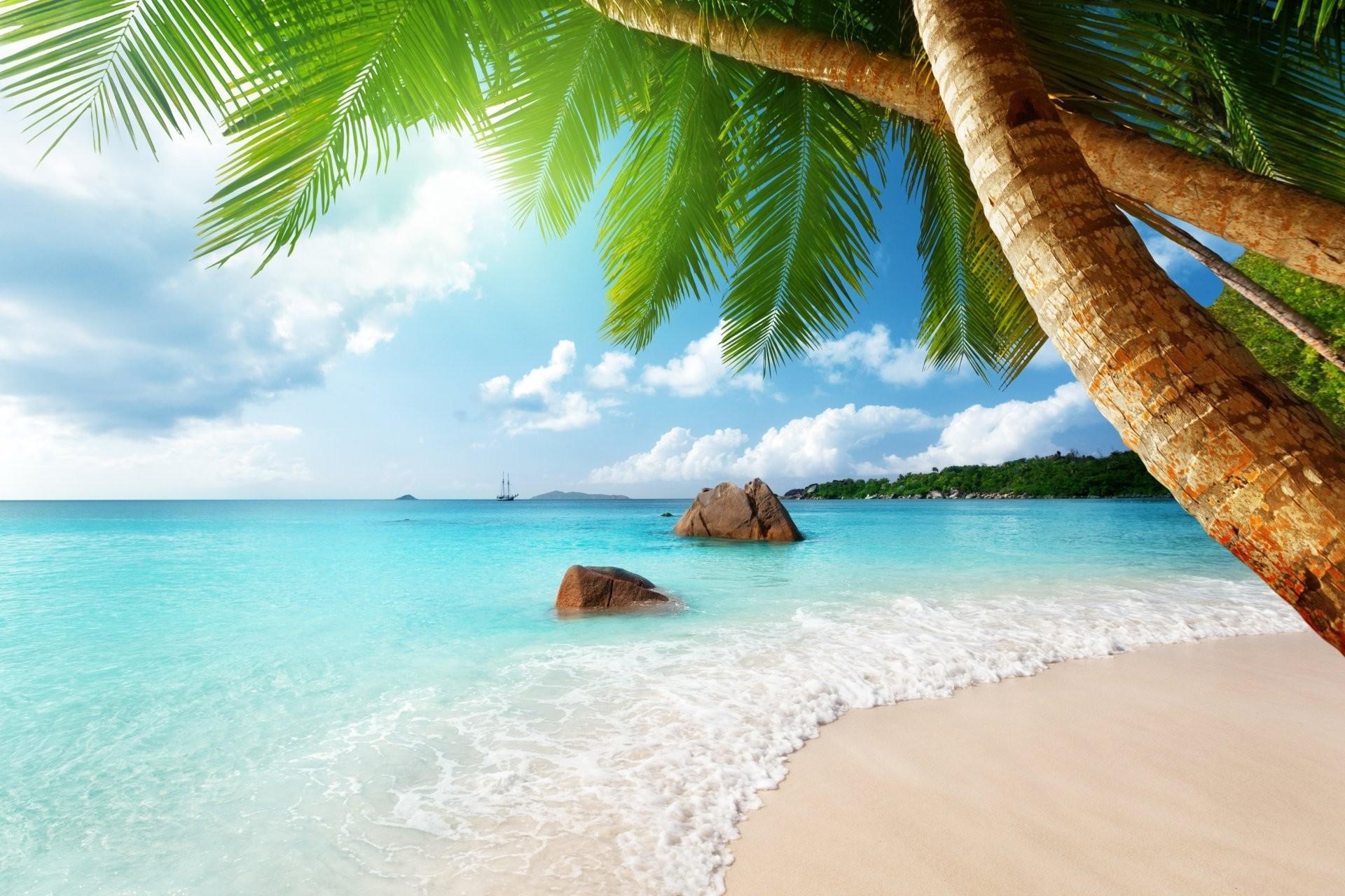 Paradise Beach Wallpaper ·① WallpaperTag
